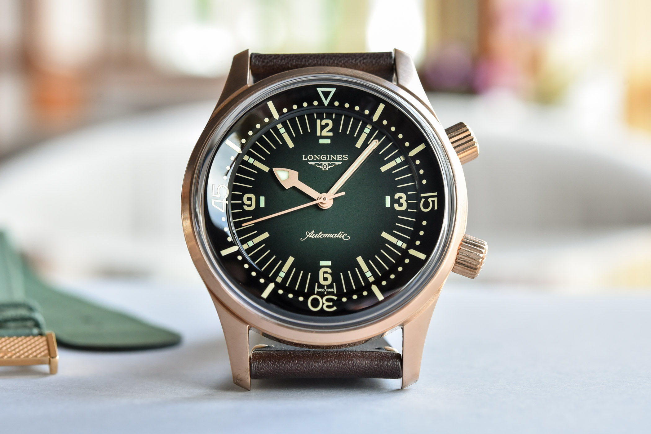 Longines Legend Diver Bronze No Date