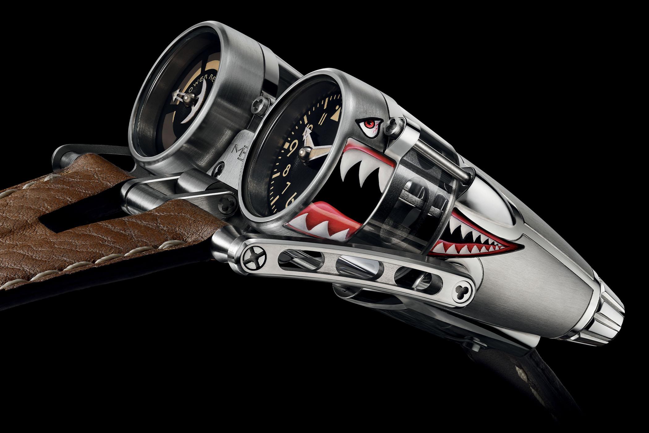 MB&F HM4 Kittyhawk prototype piece unique noseart