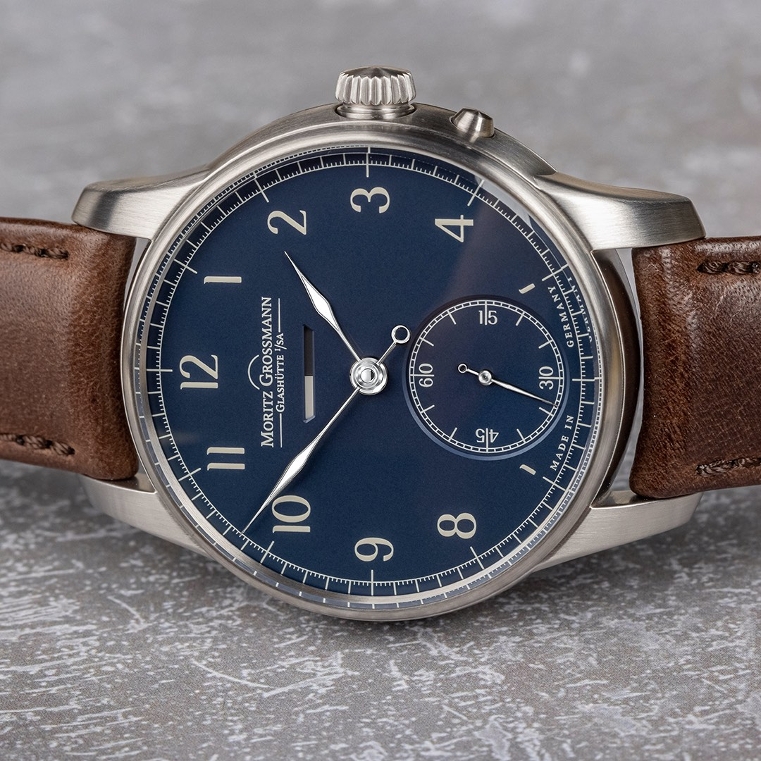 Moritz Grossmann Power Reserve Stainless Steel 12th anniversary limited editions