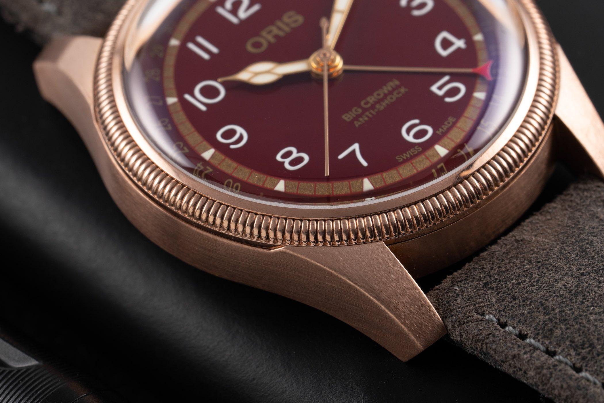 Oris Big Crown Pointer Date Fratello Edition Oxblood Bronze