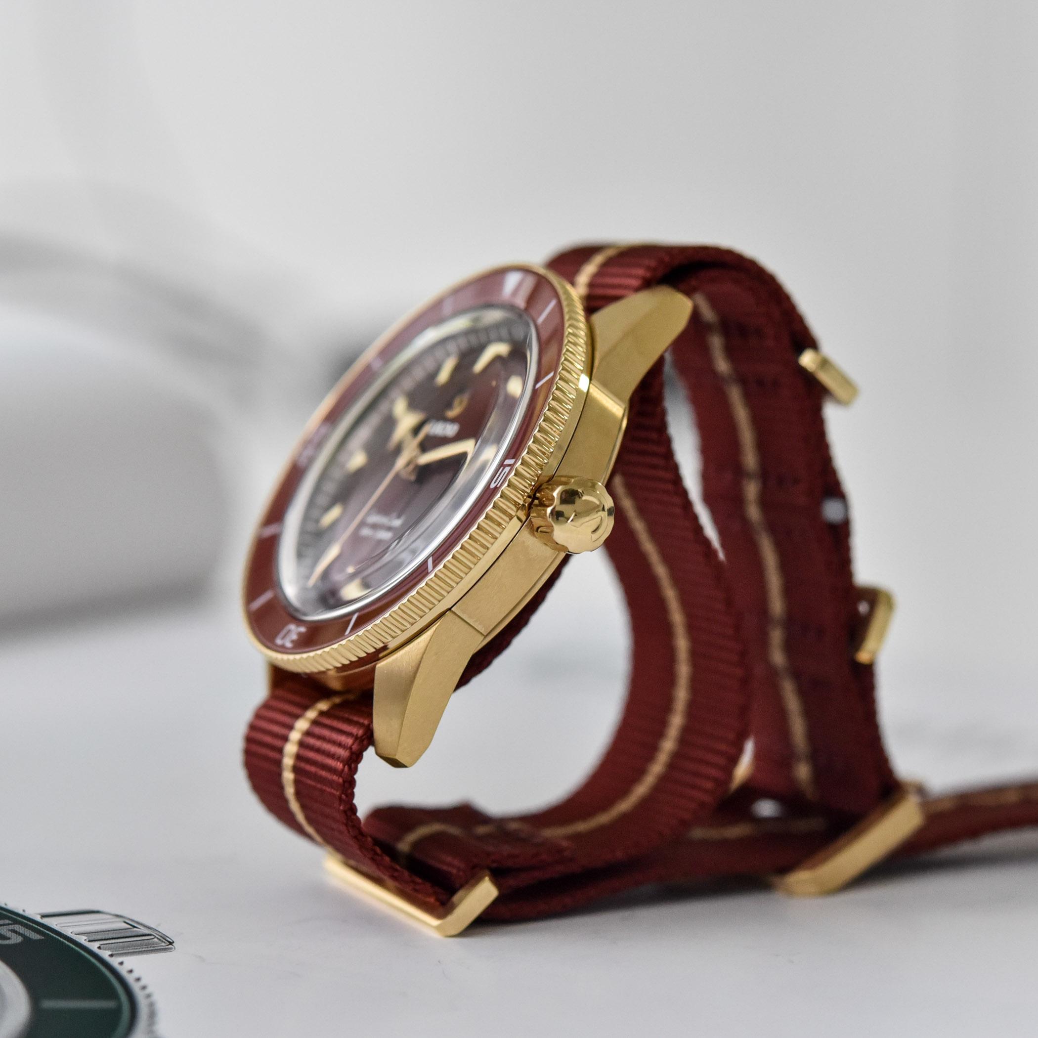 Rado Captain Cook Bronze Burgundy Automatic