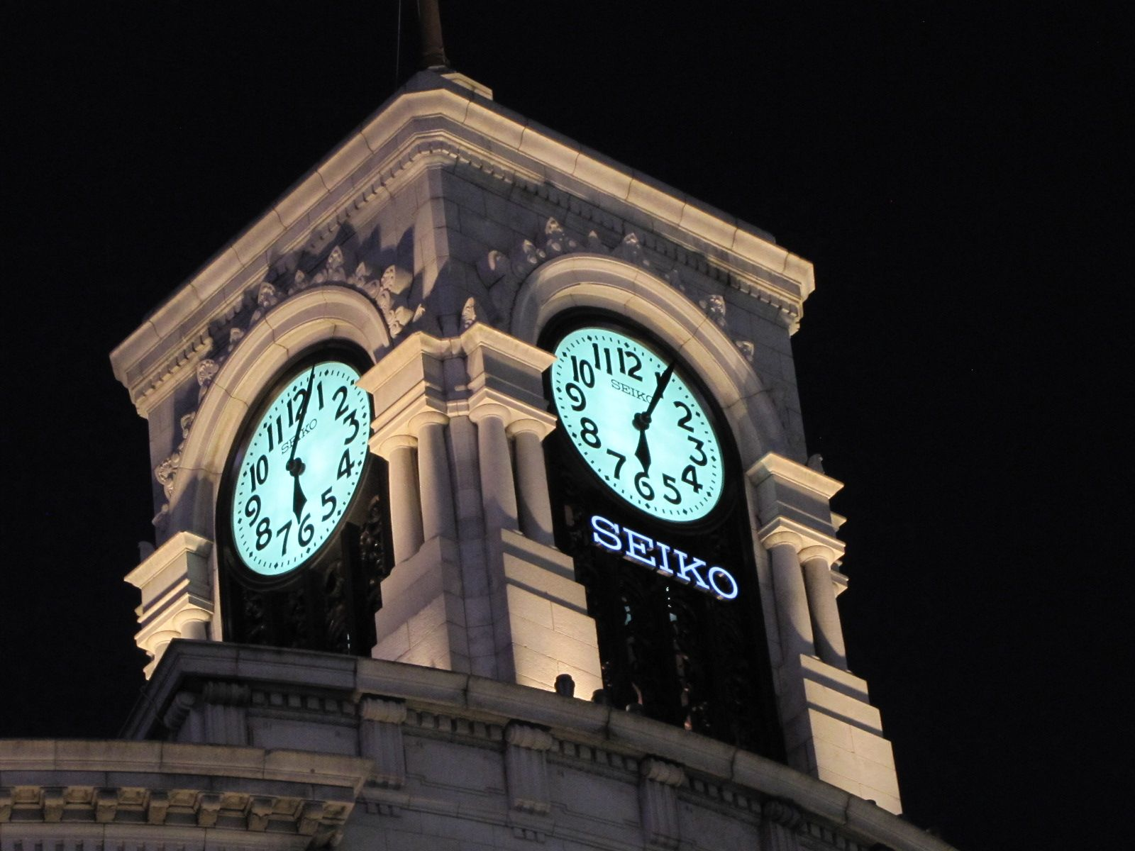 Seiko building tower clock ginza - 2