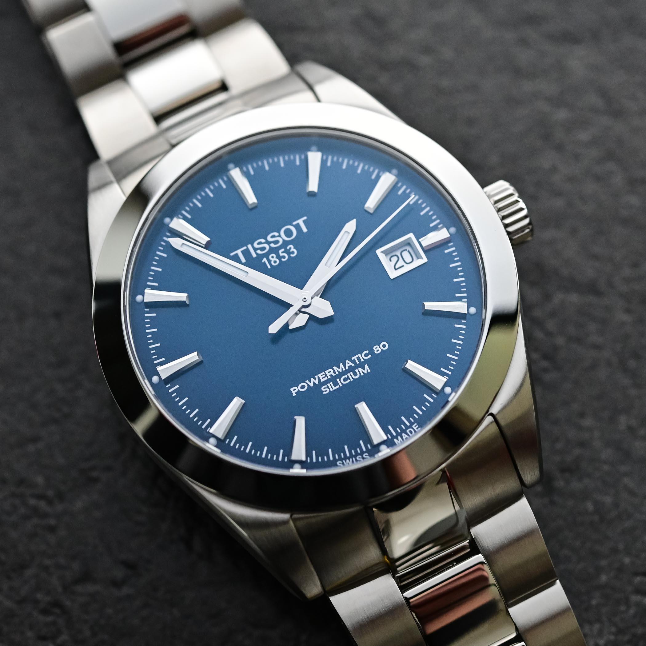 Tissot Gentleman Powermatic 80 Silicium Blue Dial
