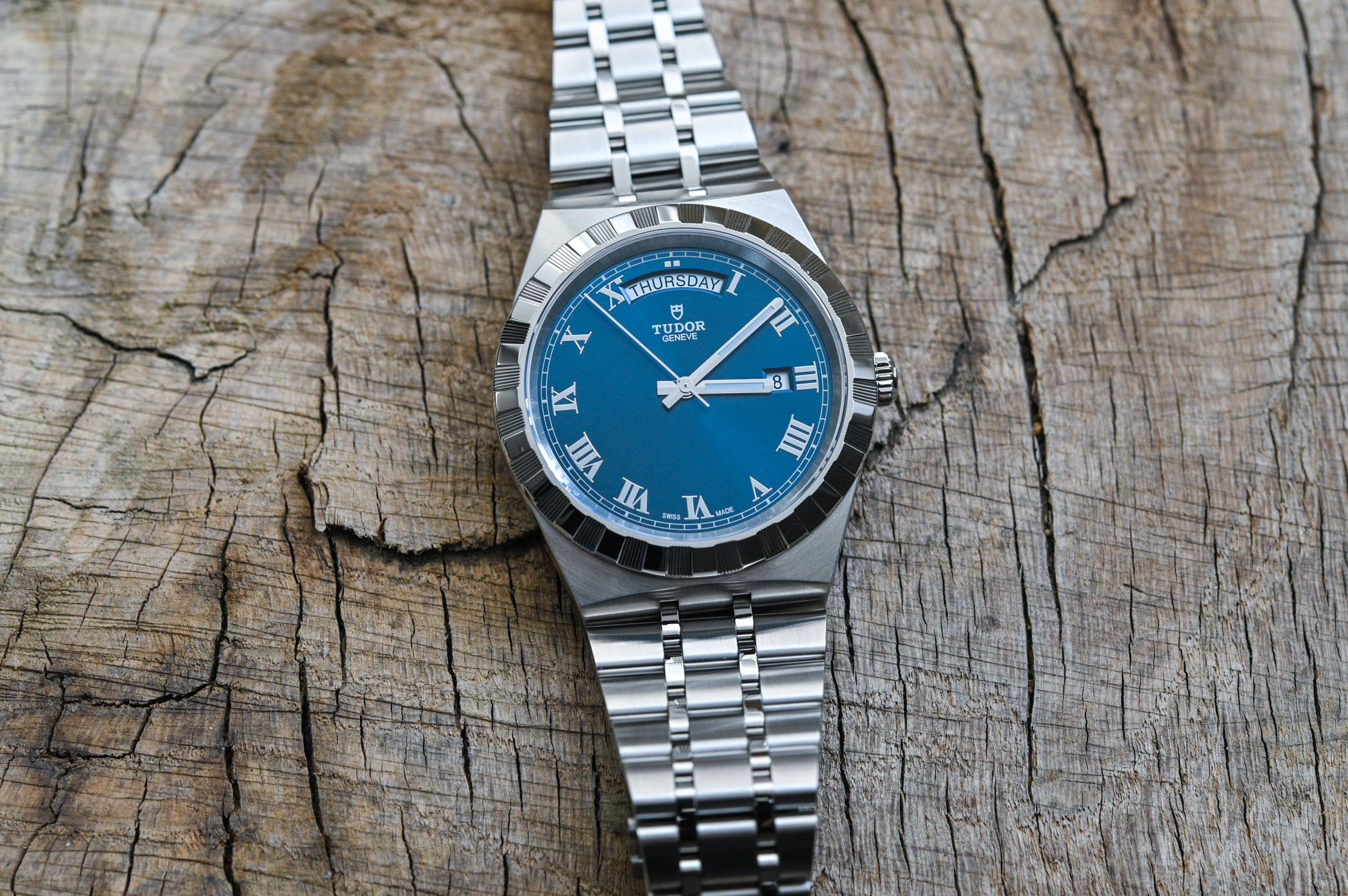 Tudor Royal Day-Date 41mm Blue Dial M28600-0005