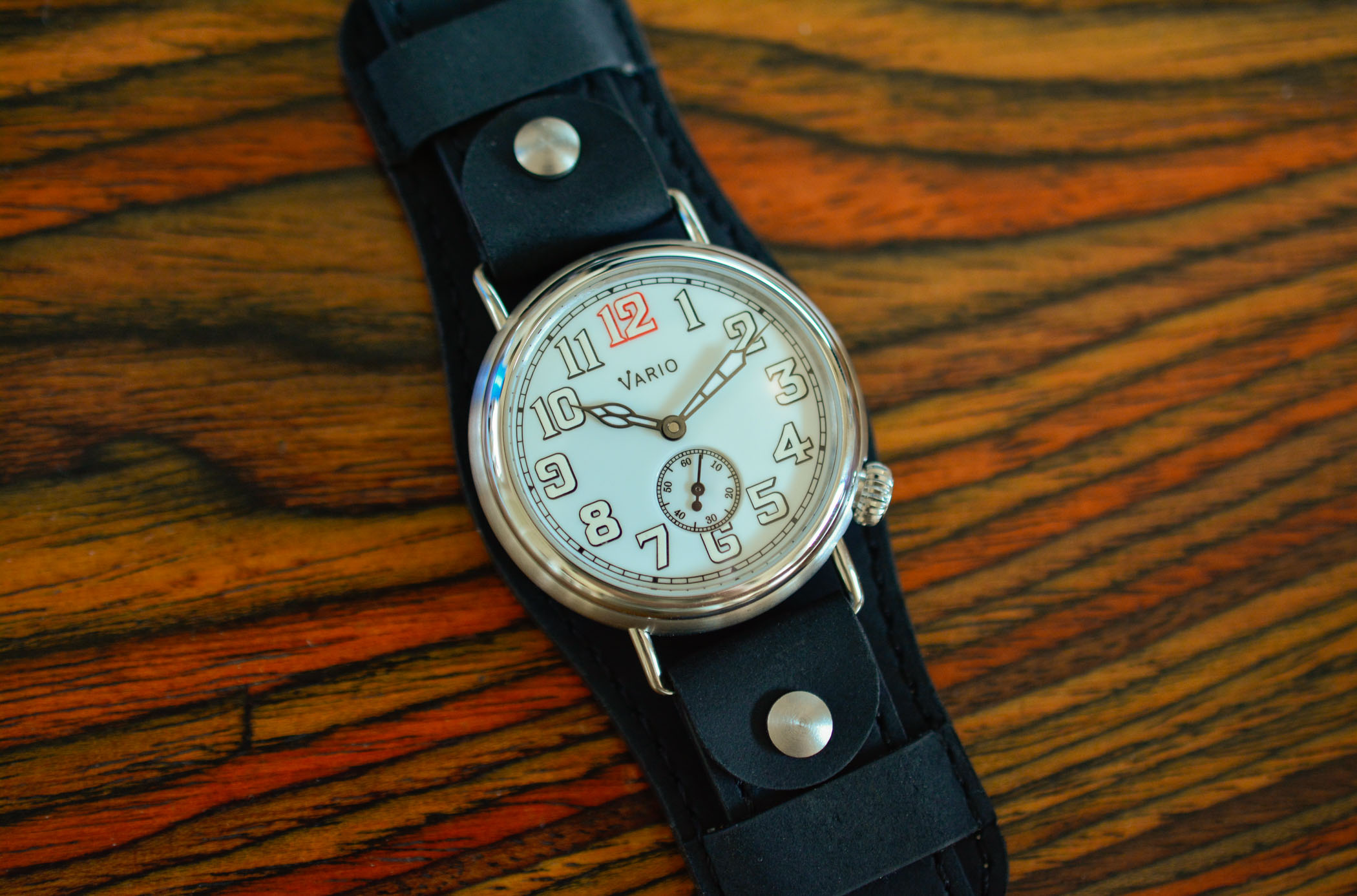 Vario World War I Trench Watch Kickstarter review - 1