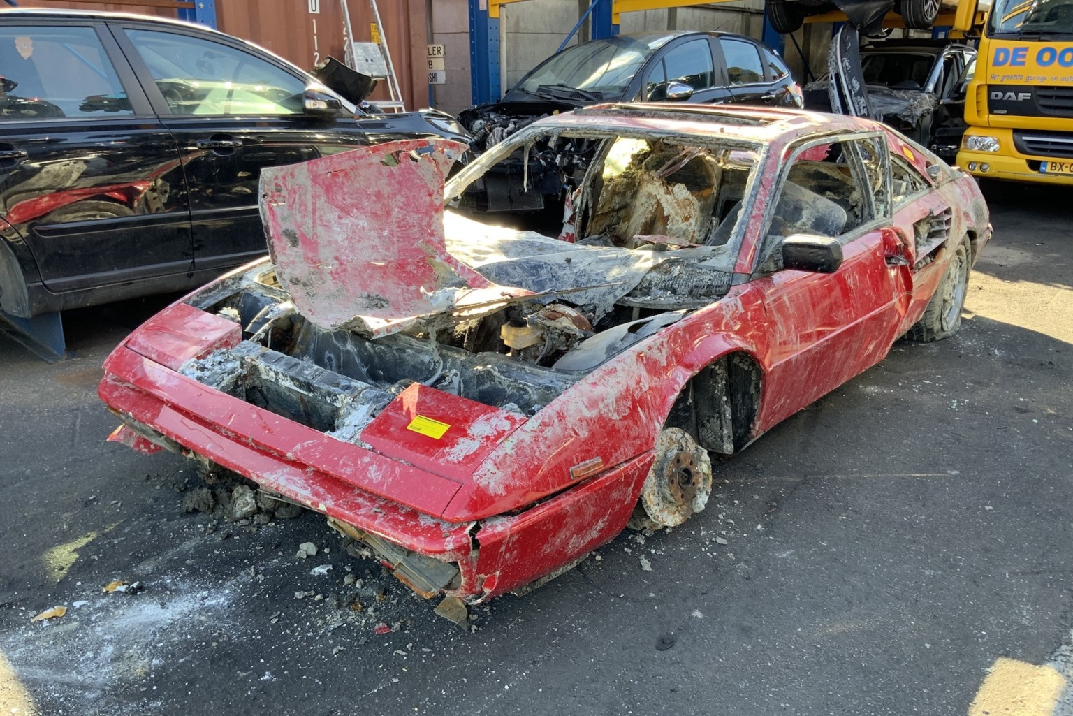The Petrolhead Corner – A Water-Wrecked Ferrari Mondial turned Netflix-star