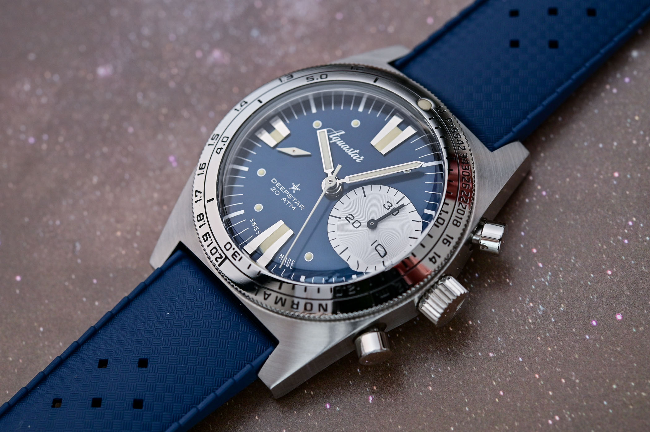Aquastar Deepstar Chronograph Re-Edition