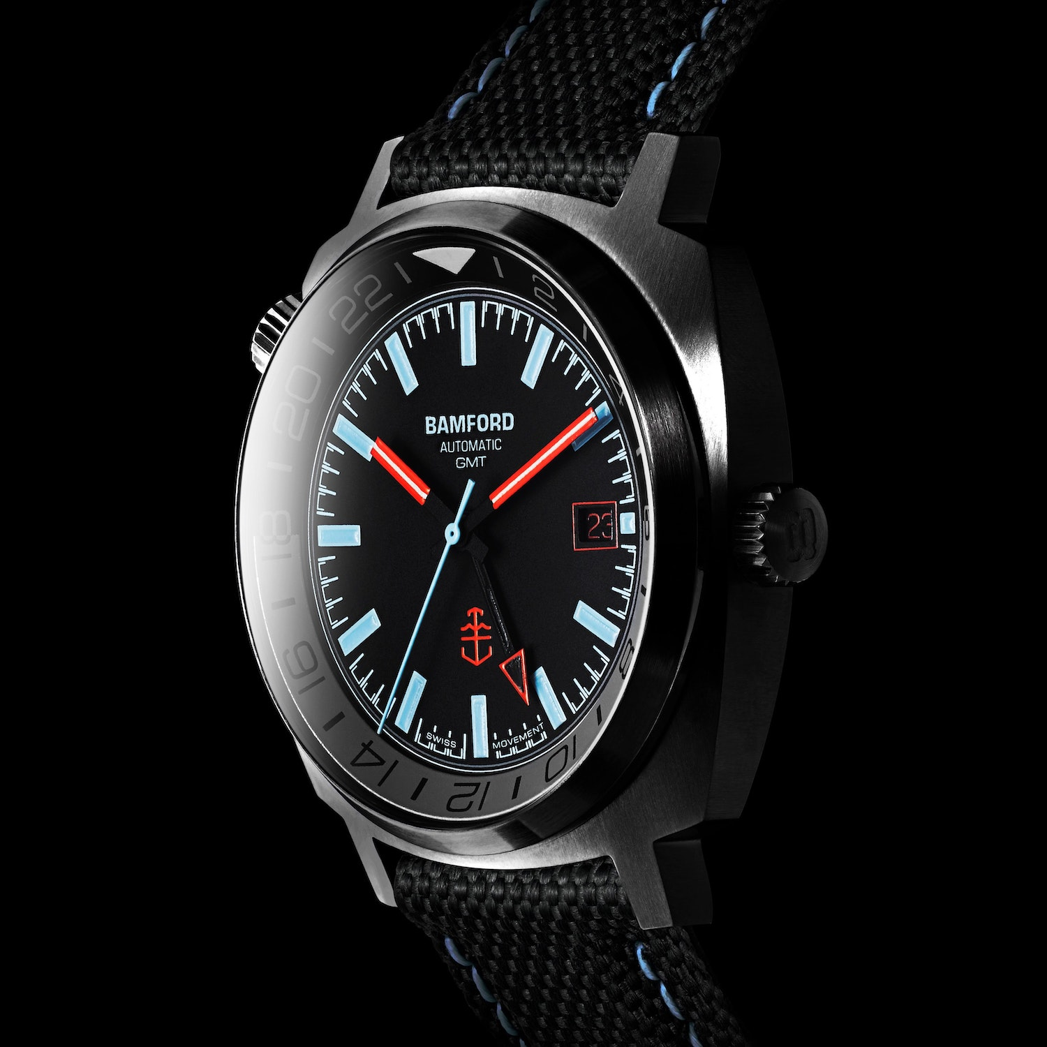 Bamford x Time+Tide GMT2 Watch
