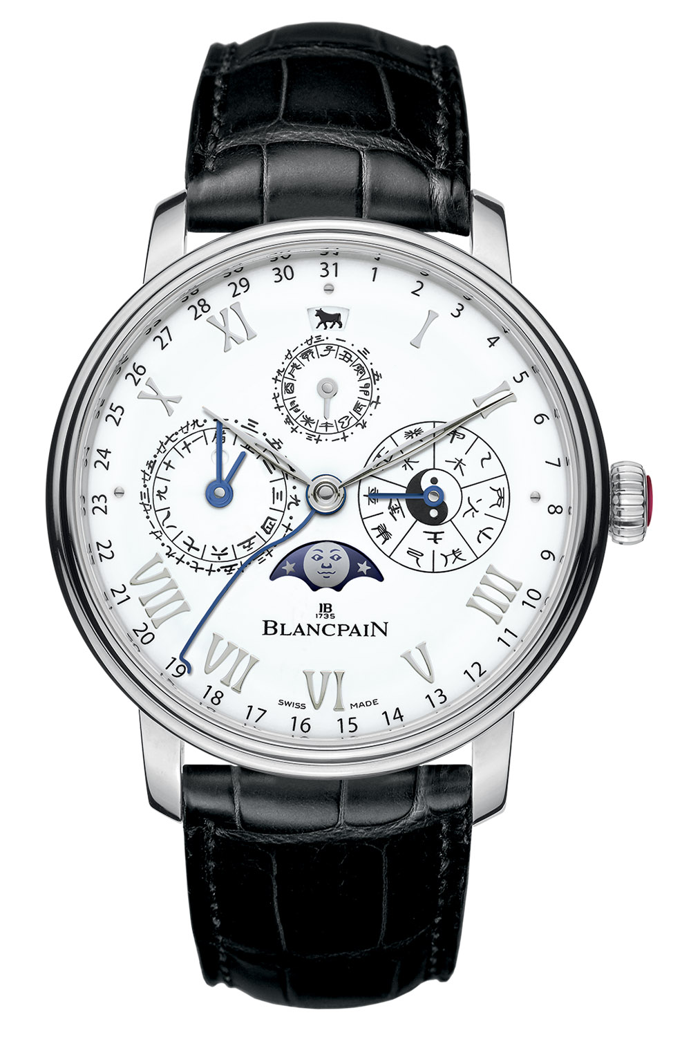Blancpain Traditional Chinese Calendar Year of the Ox platinum