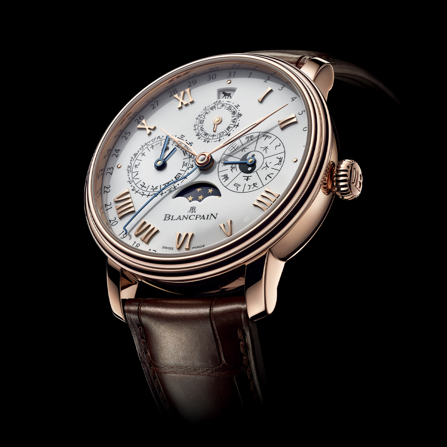 Blancpain Traditional Chinese Calendar Year of the Ox red gold