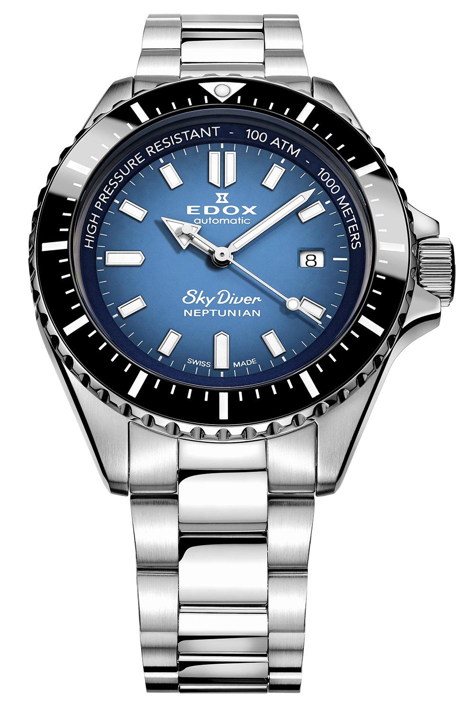 Edox SkyDiver Neptunian Dive Watch - 4
