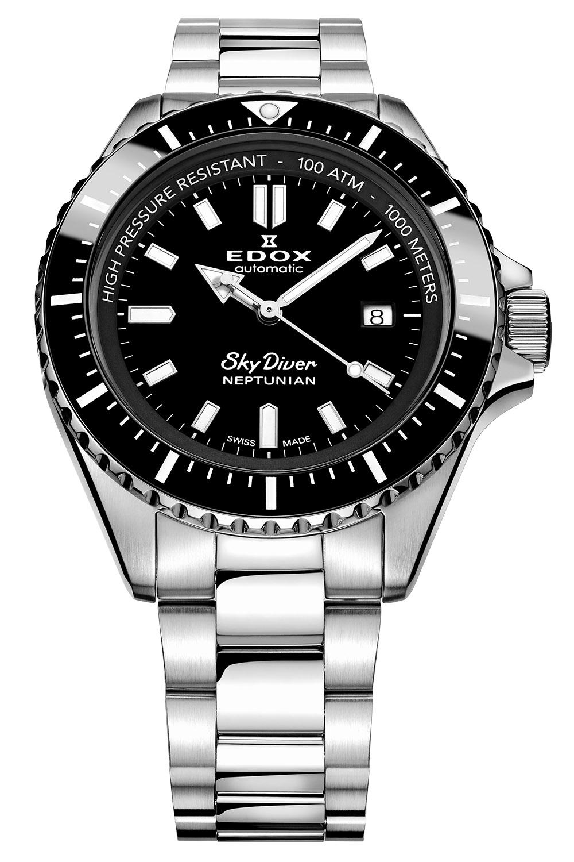 Edox SkyDiver Neptunian Dive Watch - 5