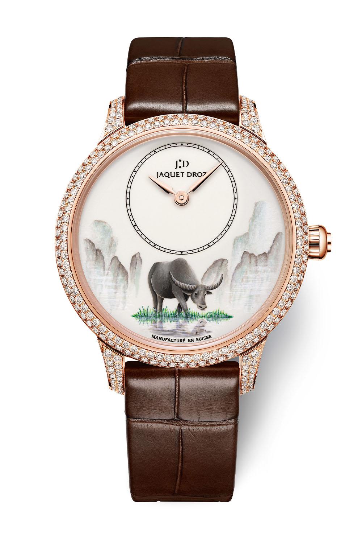 Jaquet Droz Petite Heure Minute Buffalo collection - 2