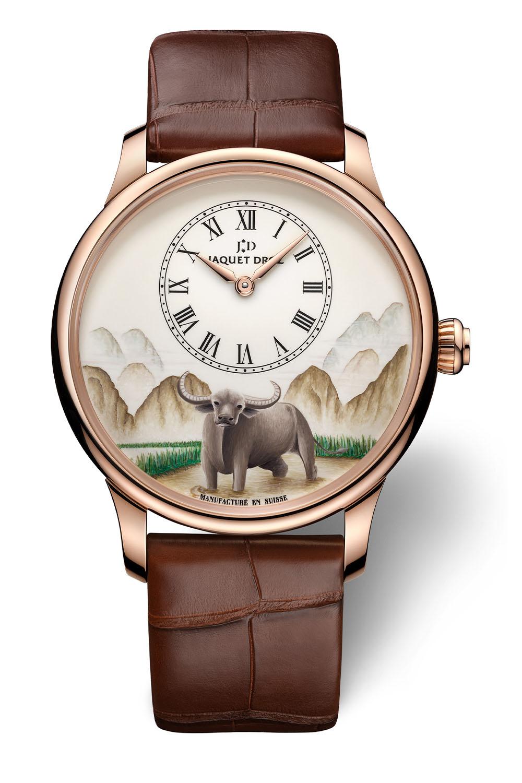 Jaquet Droz Petite Heure Minute Buffalo collection - 3