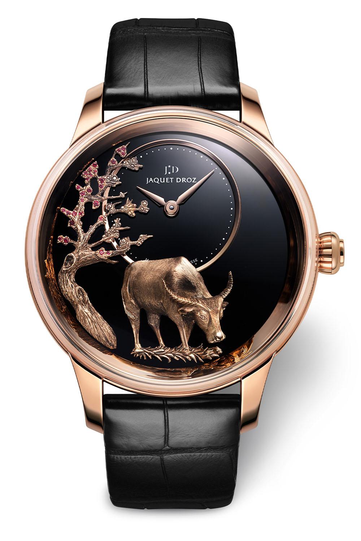 Jaquet Droz Petite Heure Minute Buffalo collection - 4