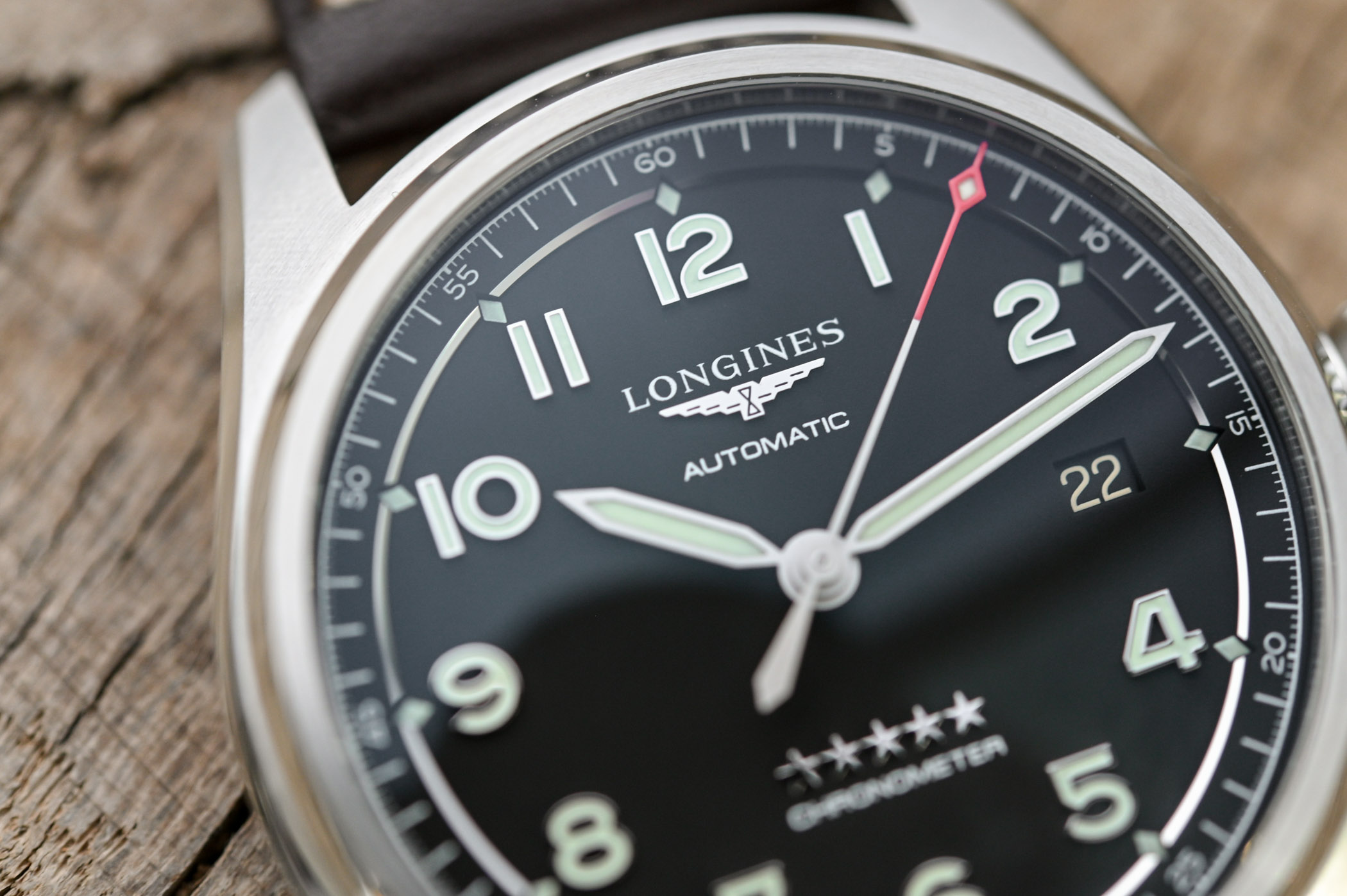 Longines Spirit 40mm Black Dial L3.810.4.53.0