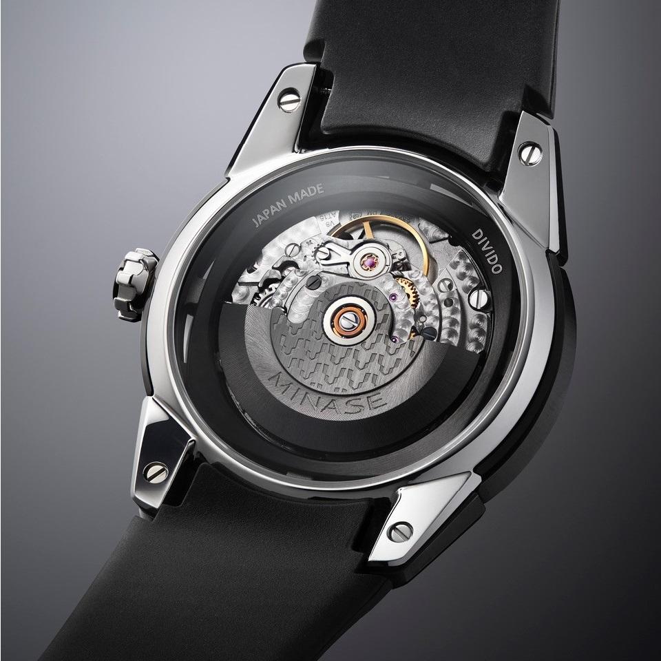 Minase watch Divido movement