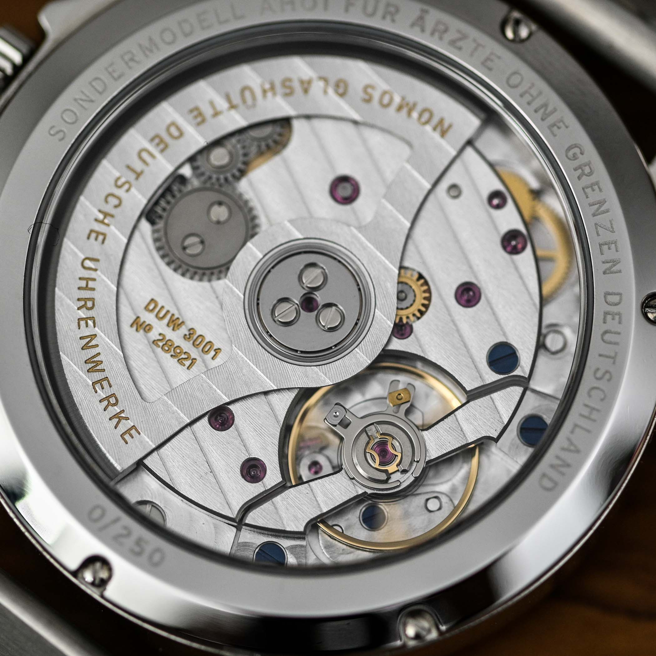 NOMOS Ahoi Neomatik Doctors Without Borders Limited Edition - review - 9