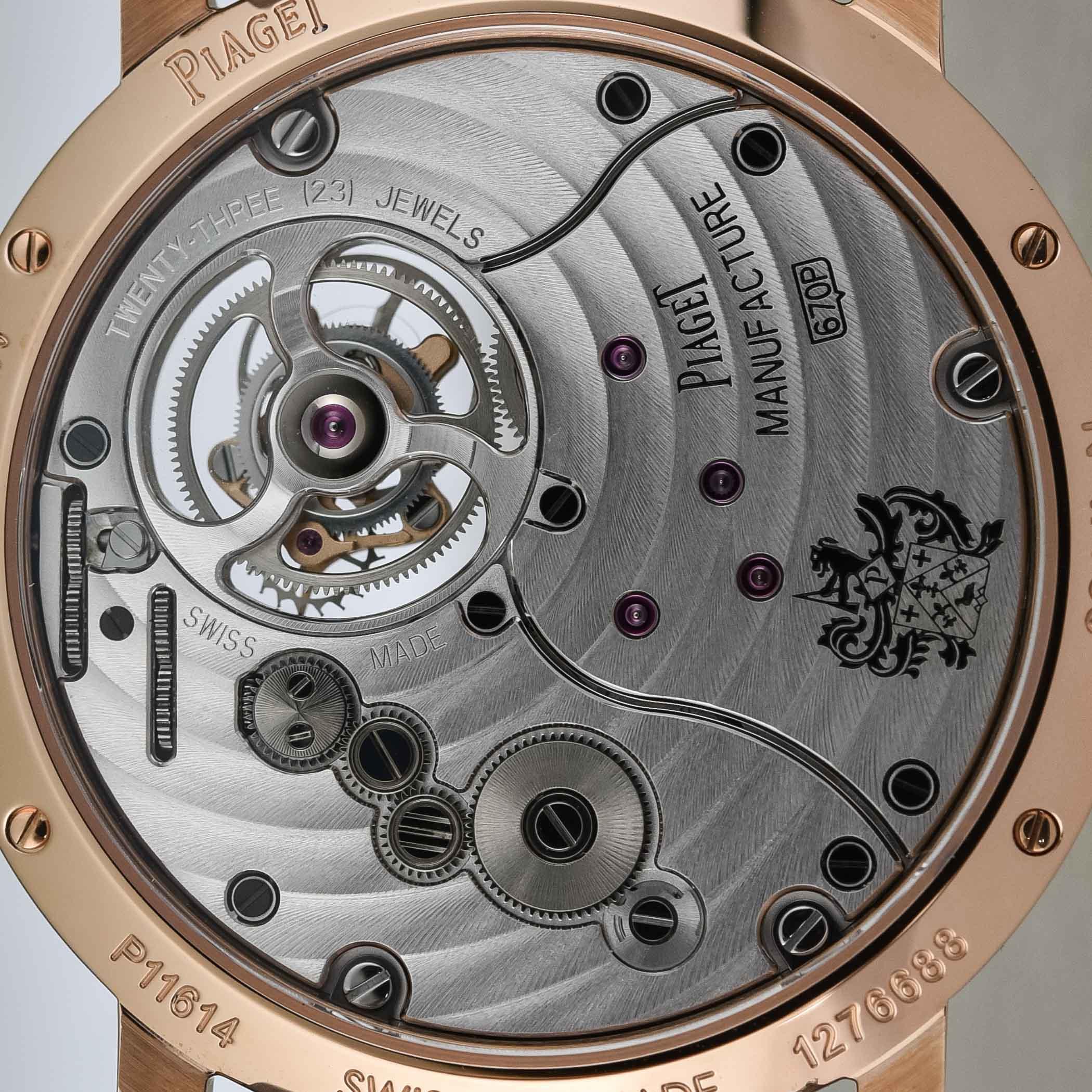 Piaget Altiplano Tourbillon 38mm Limited Edition