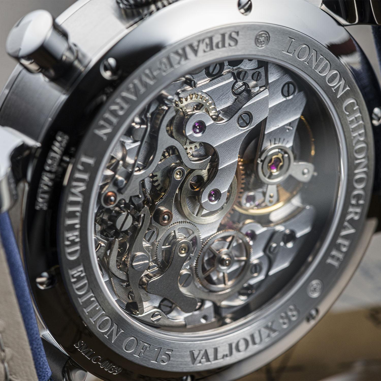 Speake-Marin London Chronograph Triple Date Valjoux 88 - 4