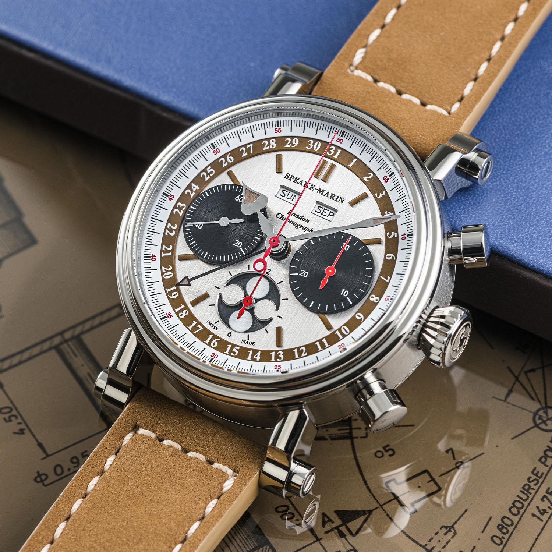 Speake-Marin London Chronograph Triple Date Valjoux 88 - 6