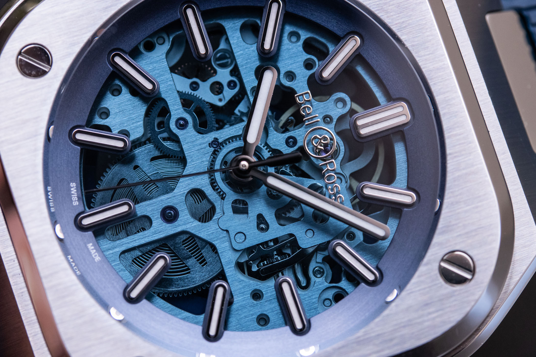 Bell & Ross BR 05 Skeleton Blue