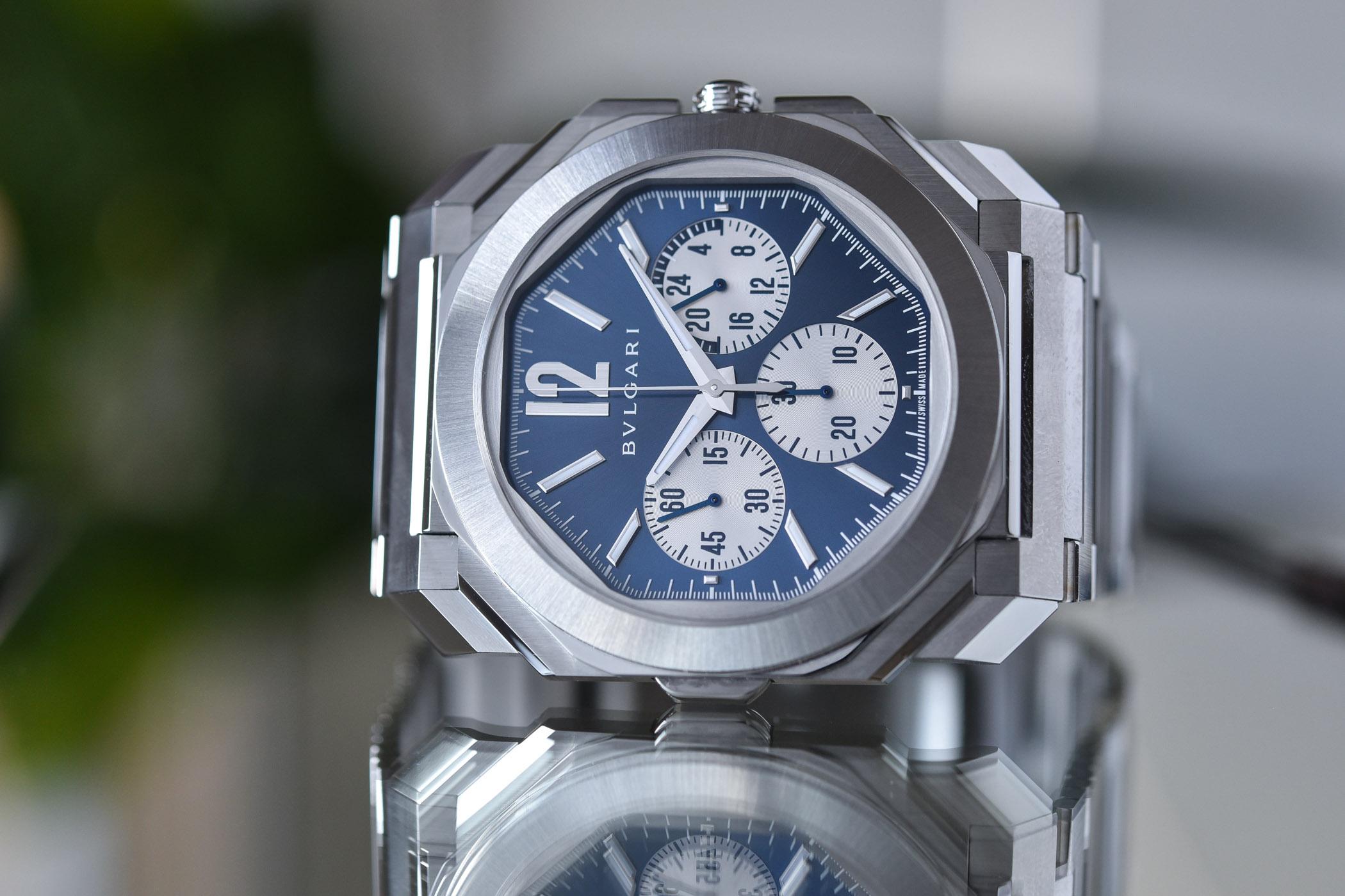 Bulgari Octo Finissimo S Chronograph GMT Steel 103476 - 1