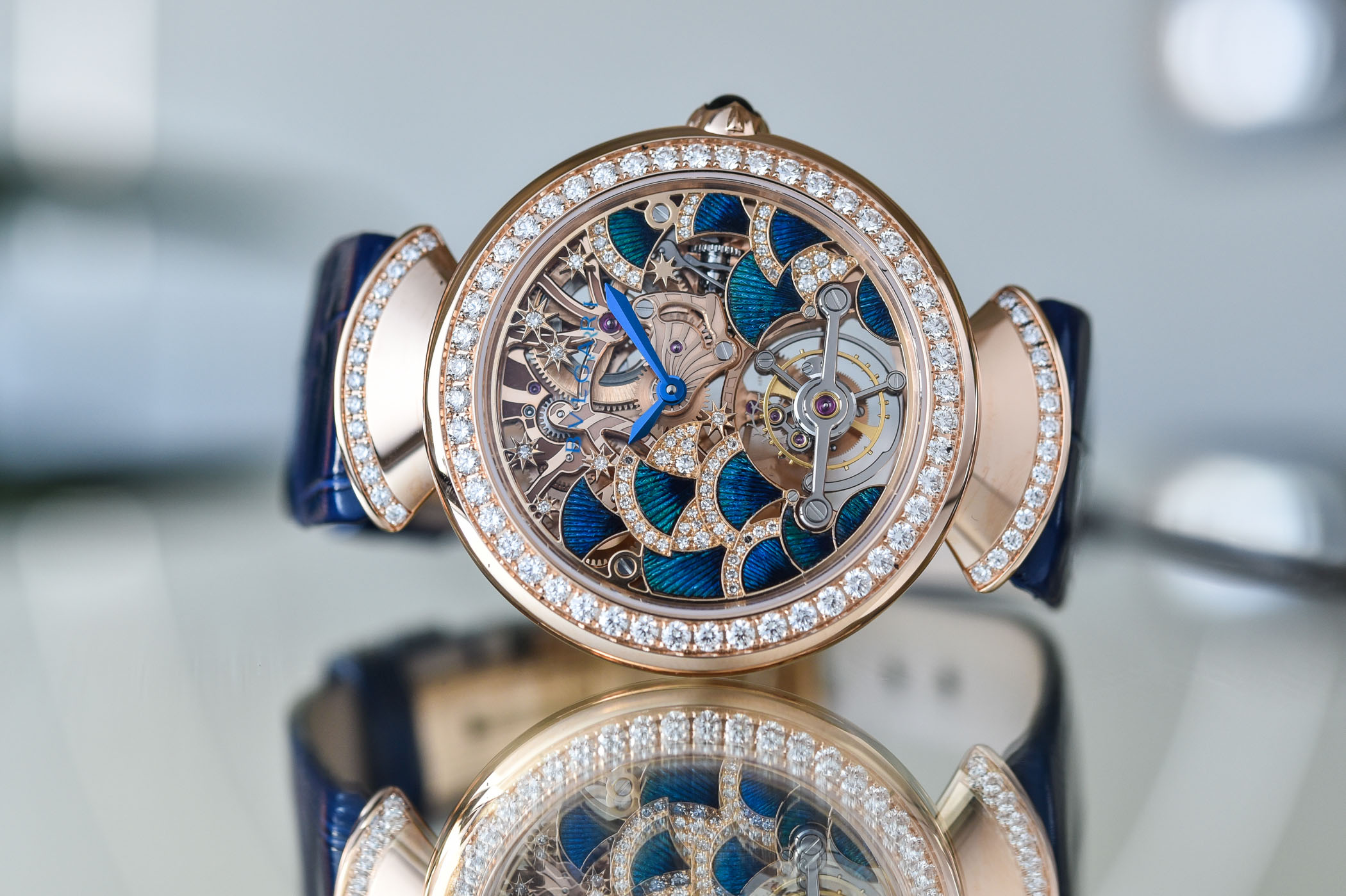 Bvlgari Divas' Dream Peacock Tourbillon Lumiere