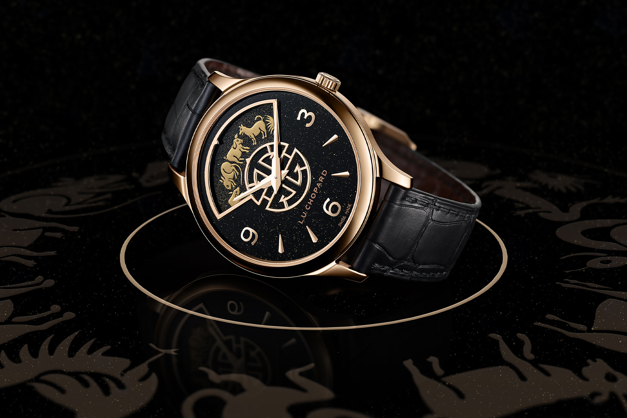 Chopard L.U.C Urushi Watches for Chinese Year of the Ox
