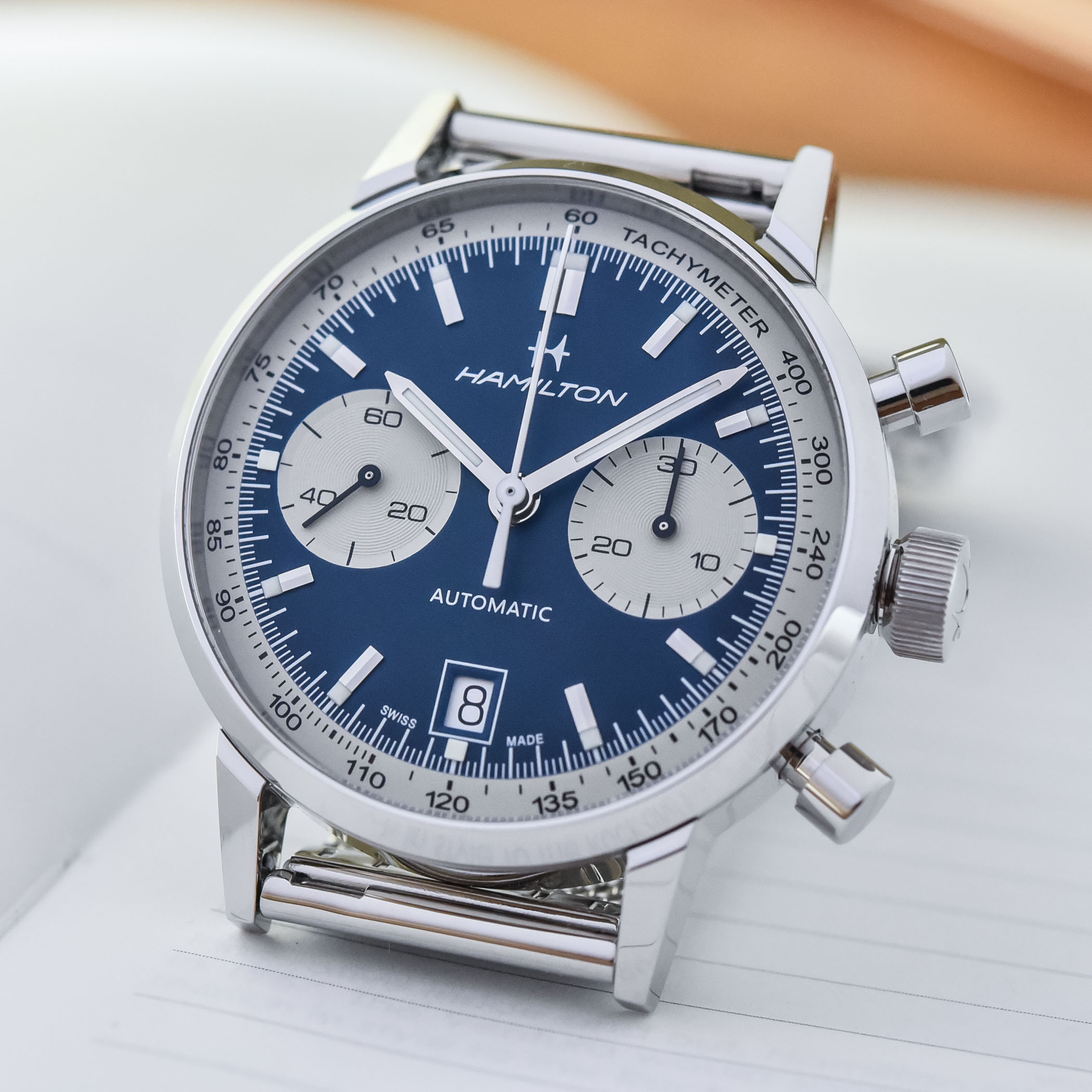 Hamilton Intra-Matic Automatic Chronograph 40mm 2021 collection - H38416111 - H38416141 - 6