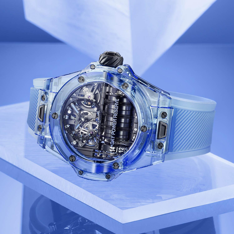 Hublot Big Bang MP-11 blue sapphire