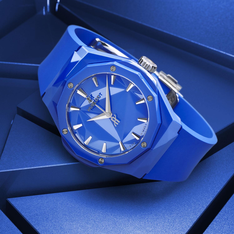 Hublot Classic Fusion Orlinski 40mm flashy blue