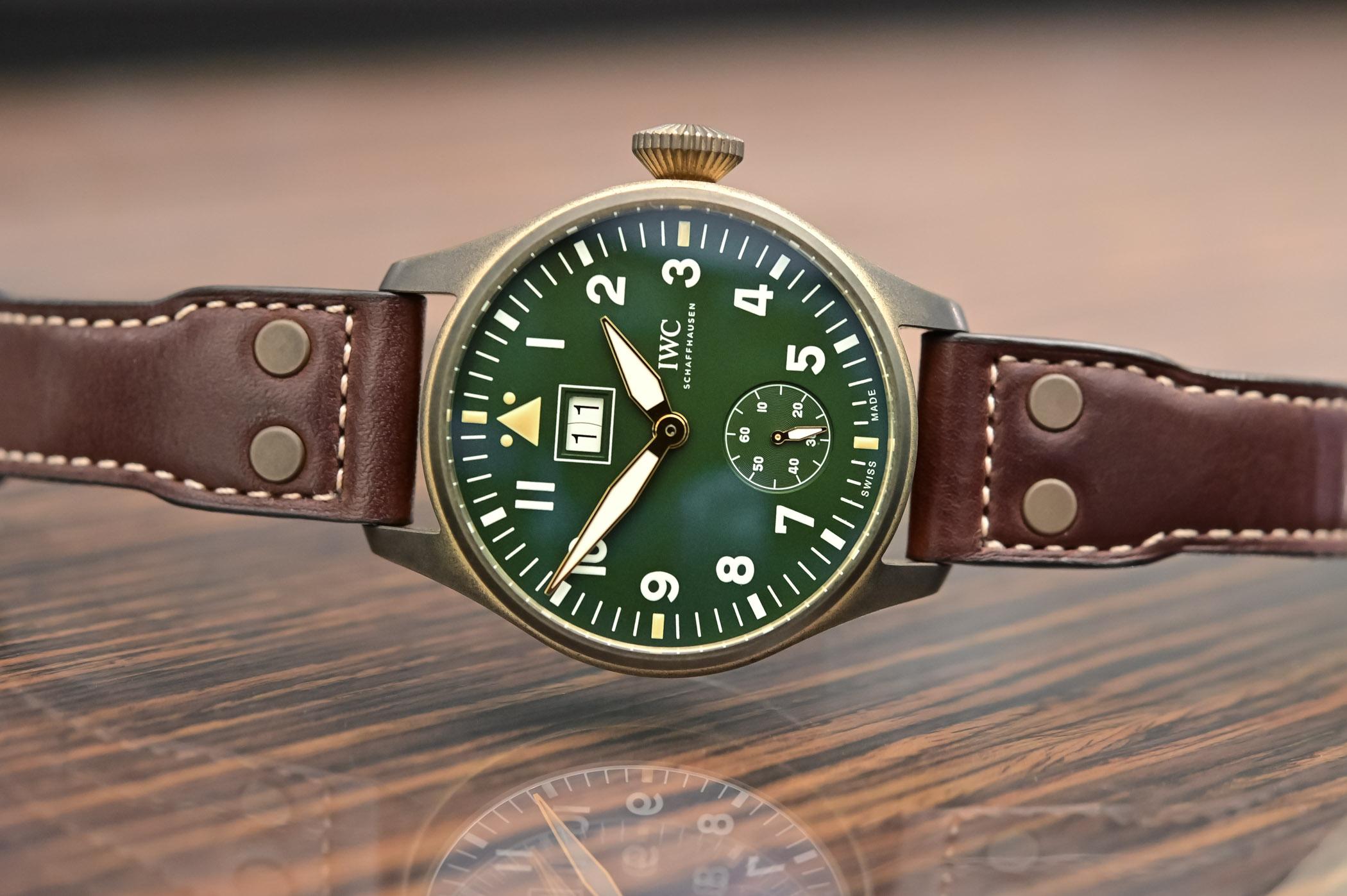 IWC Big Pilot's Watch Big Date Spitfire Edition Mission Accomplished IW510506