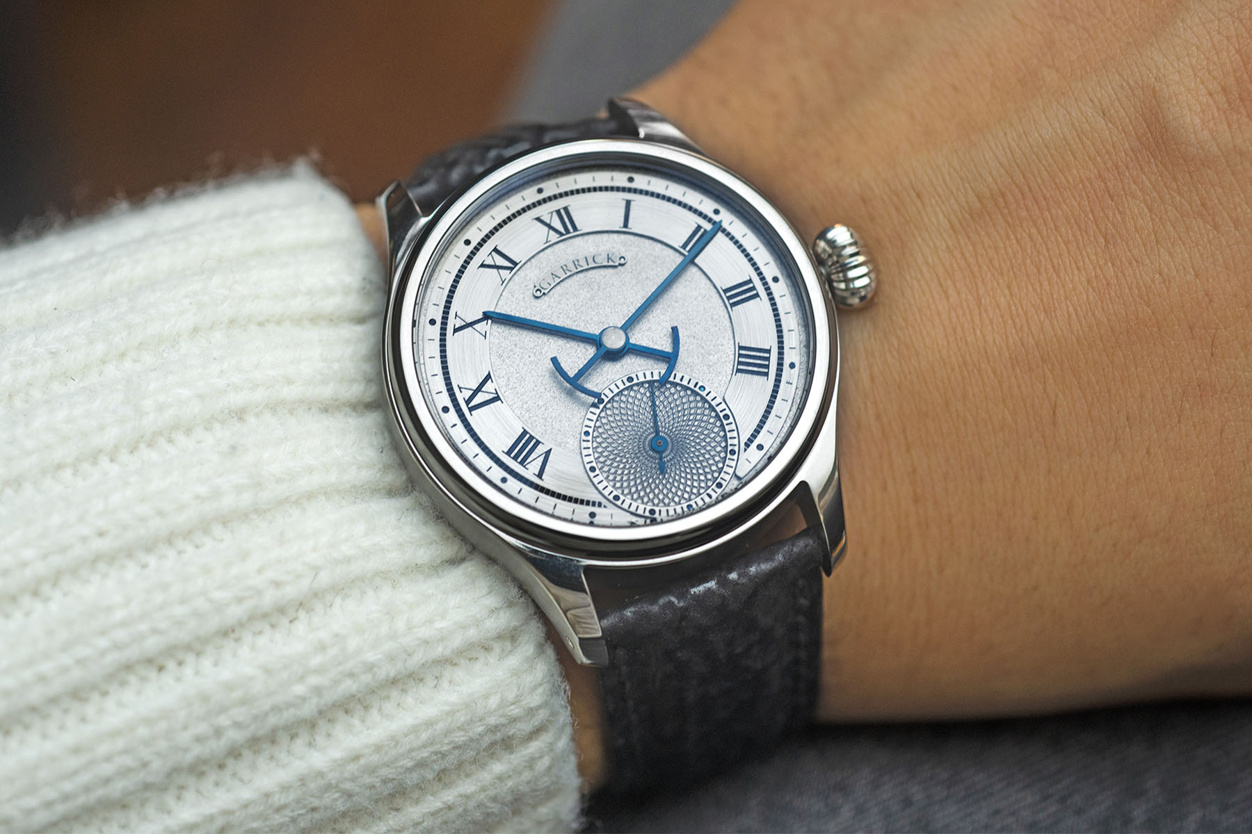 Garrick S4 watch - Independent Watchmaking England