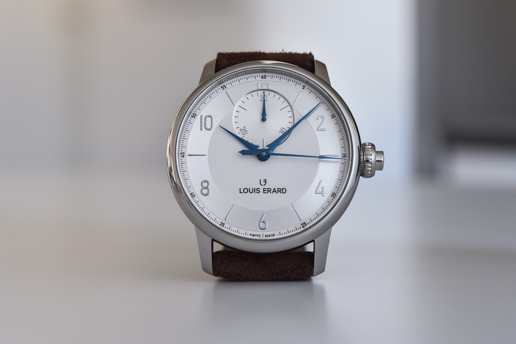 Louis Erard Excellence chronograph monopoussoir - review - 1