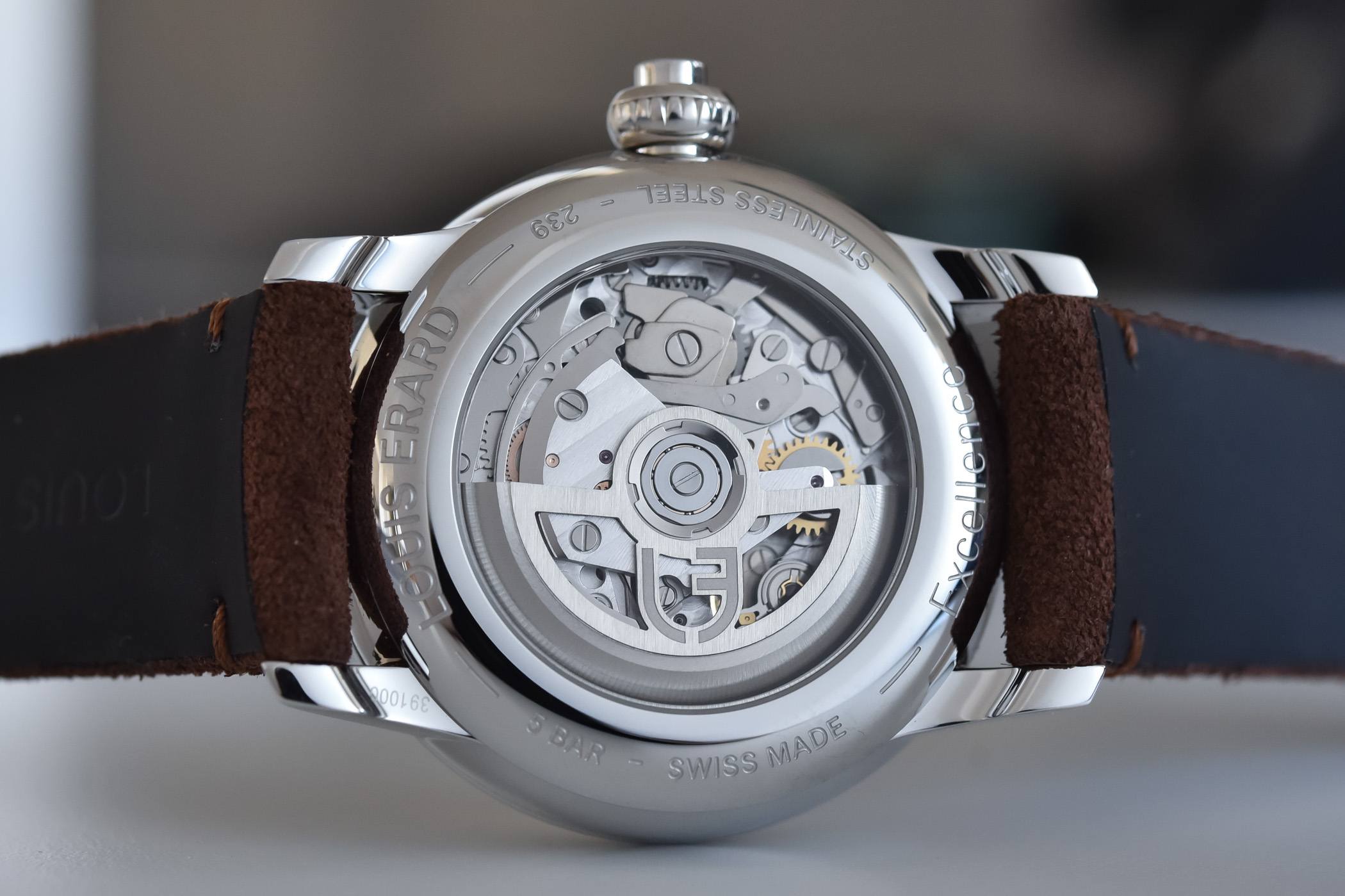 Louis Erard Excellence chronograph monopoussoir - review - 2