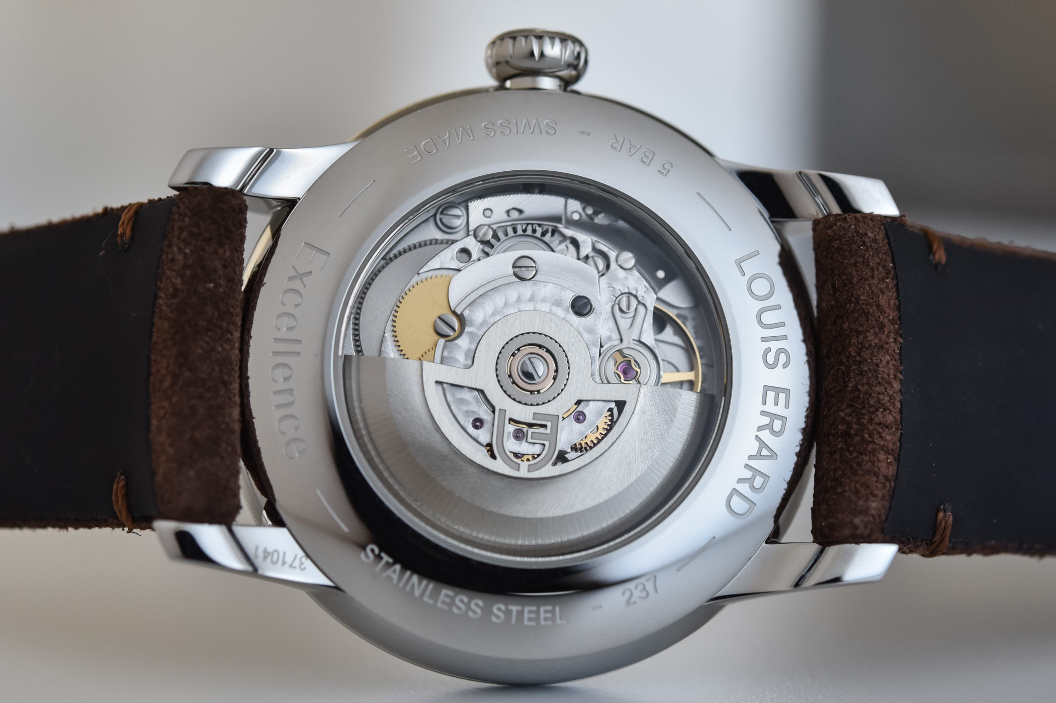 Louis Erard Excellence regulateur - review - 2