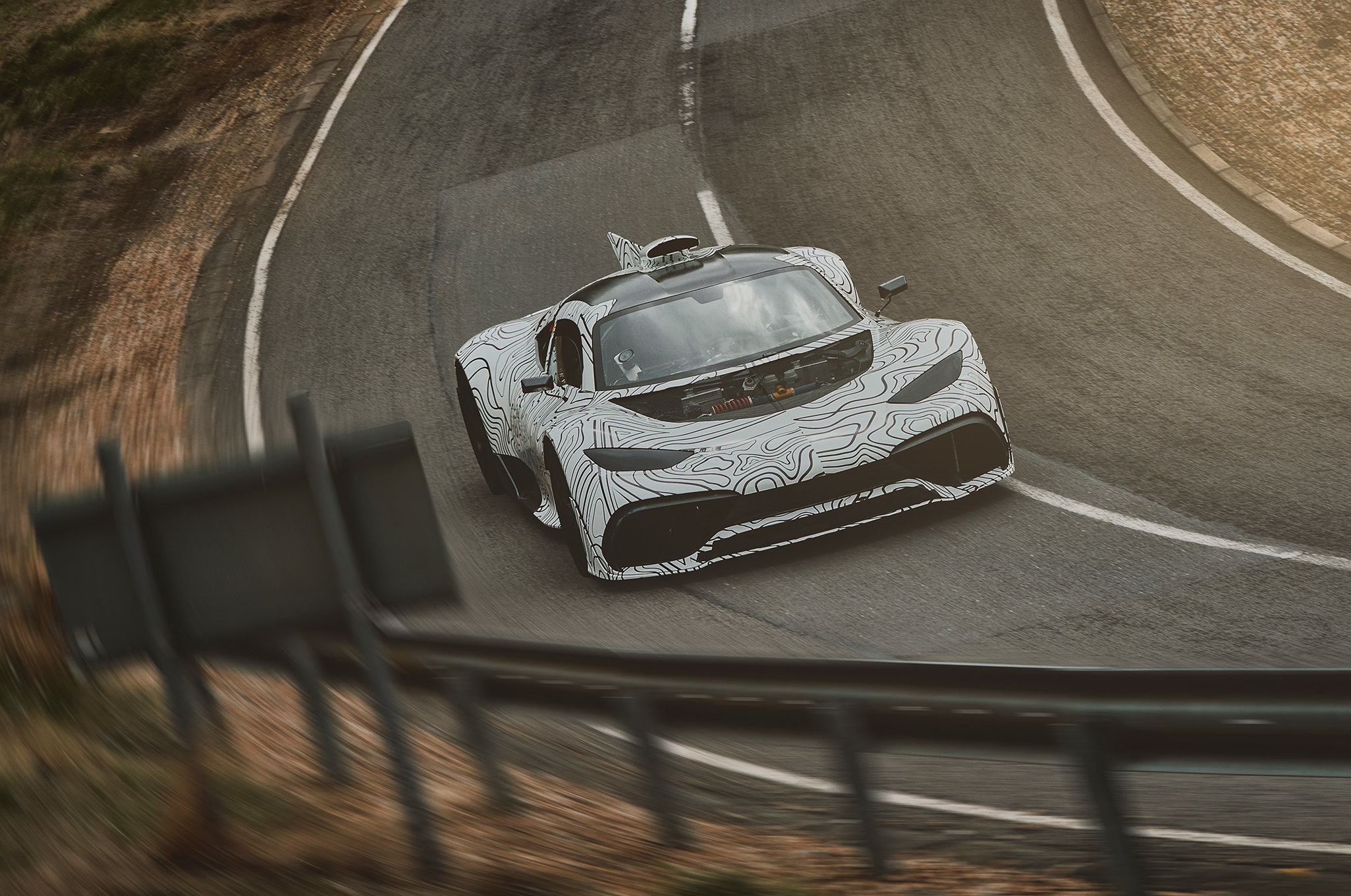 Mercedes-AMG Project ONE: Prototyp auf Erprobung Mercedes-AMG Project ONE: Prototype Testing