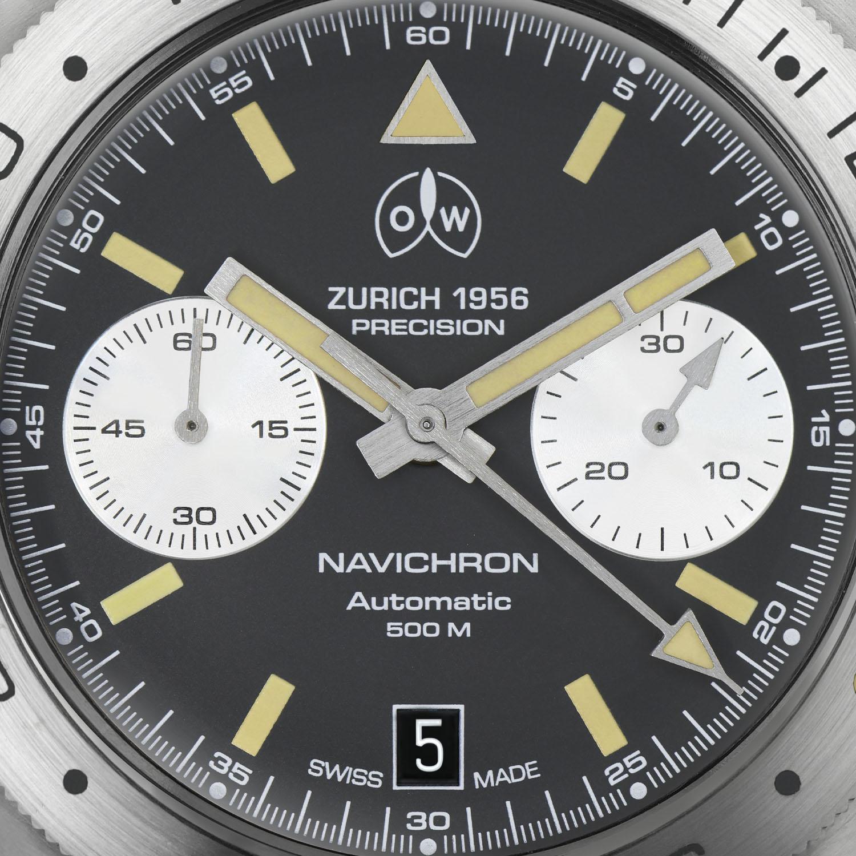 Ollech & Wajs Navichron Chronograph