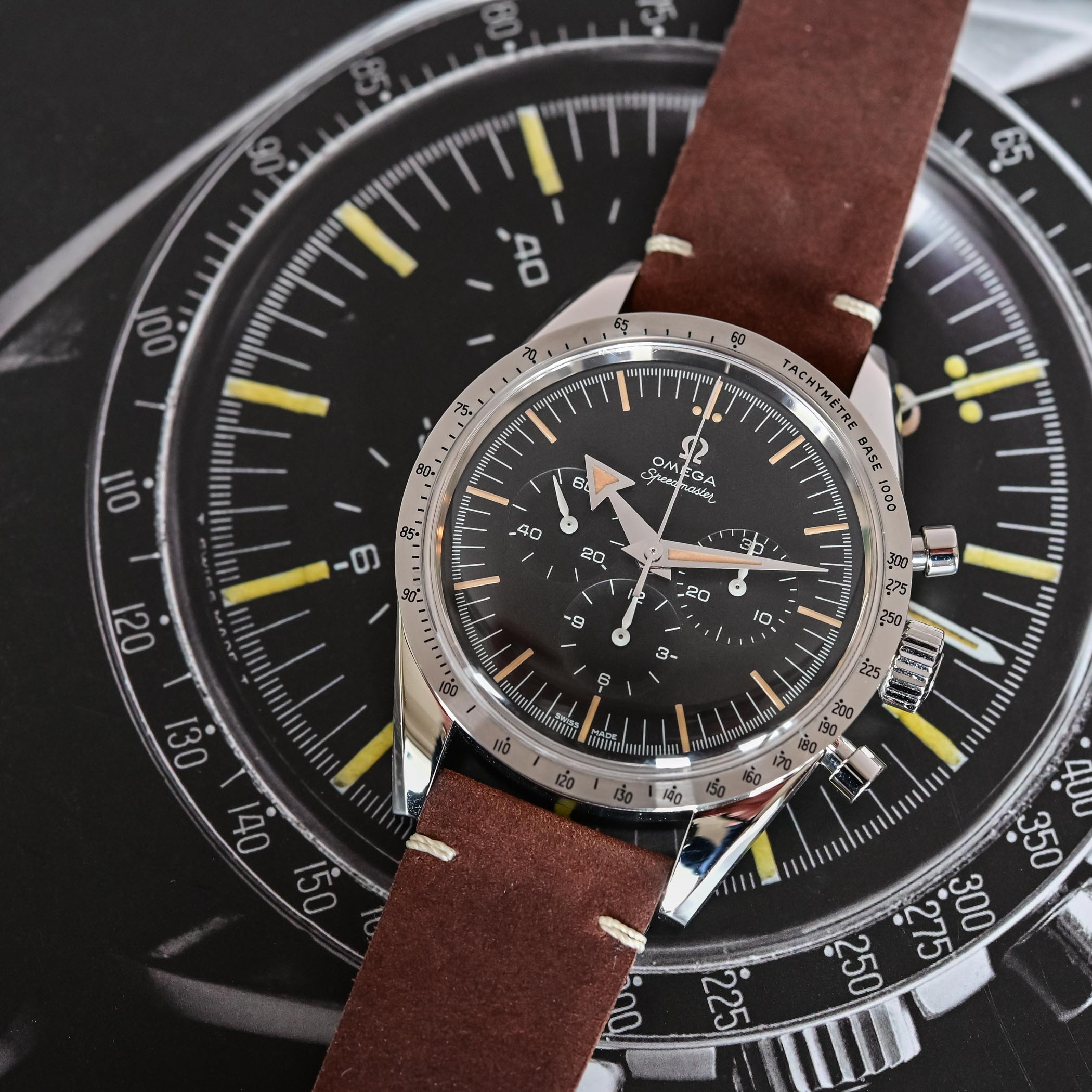 Omega Speedmaster 60th anniversary Edition - comparative review - 1