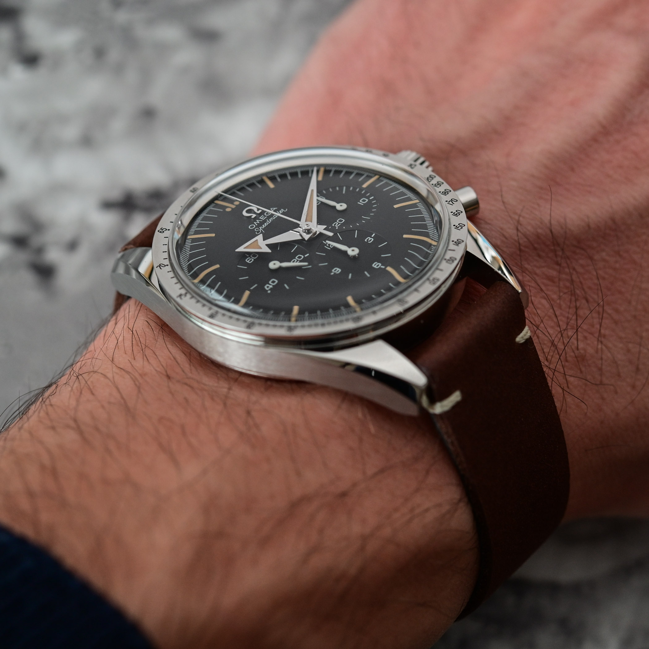 Omega Speedmaster 60th anniversary Edition - comparative review - 13