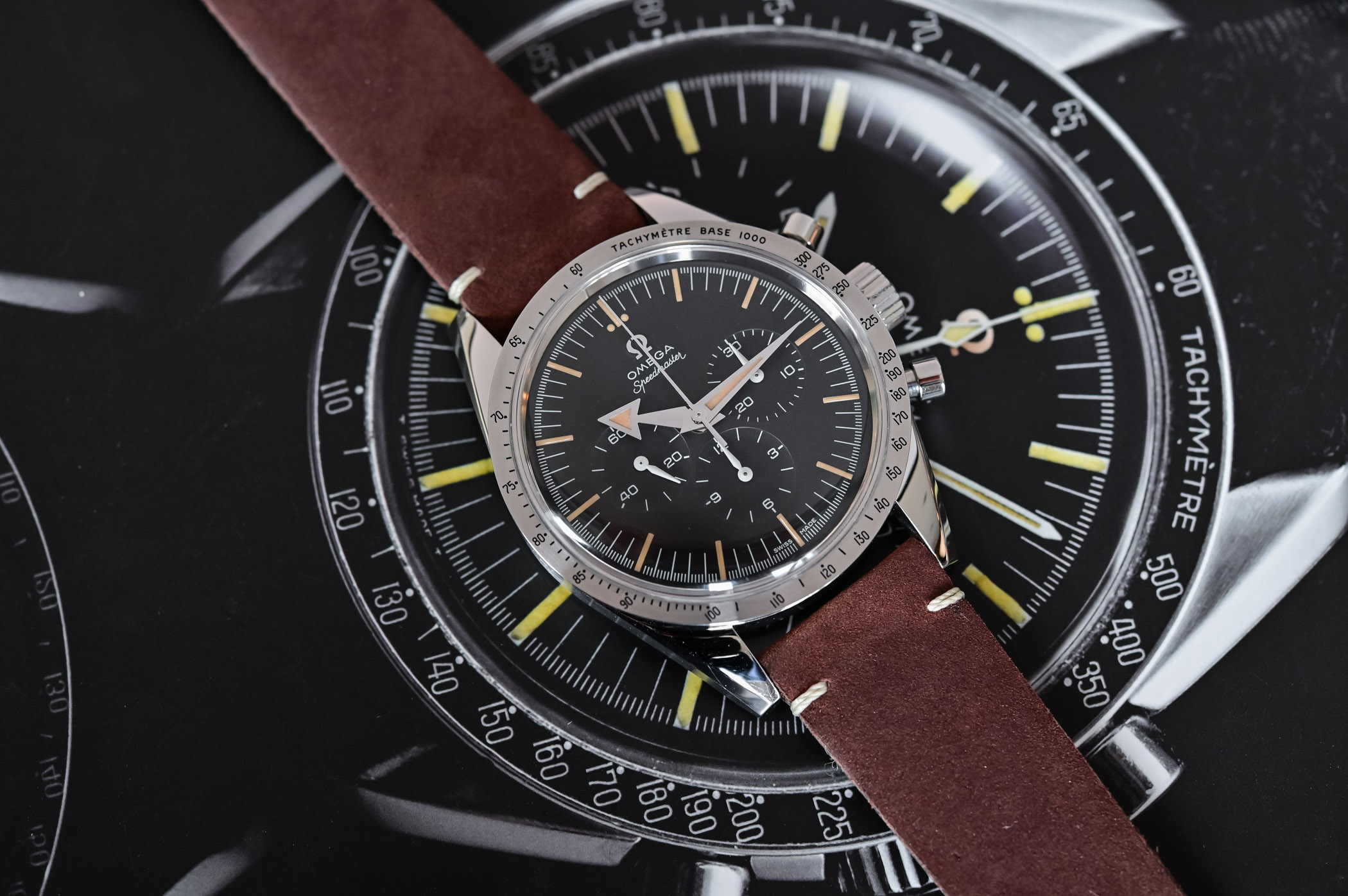 Omega Speedmaster 60th anniversary Edition - comparative review - 2