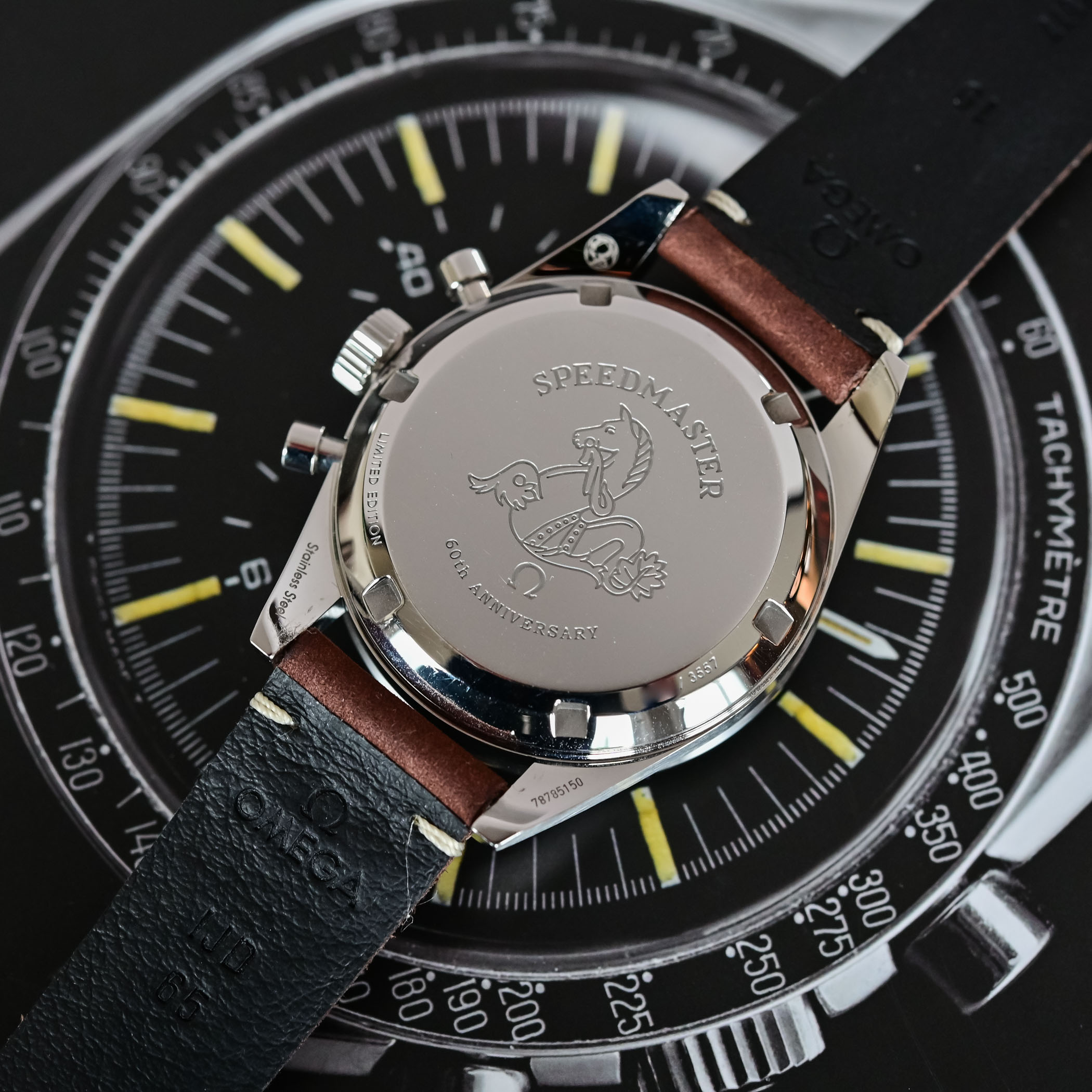 Omega Speedmaster 60th anniversary Edition - comparative review - 3