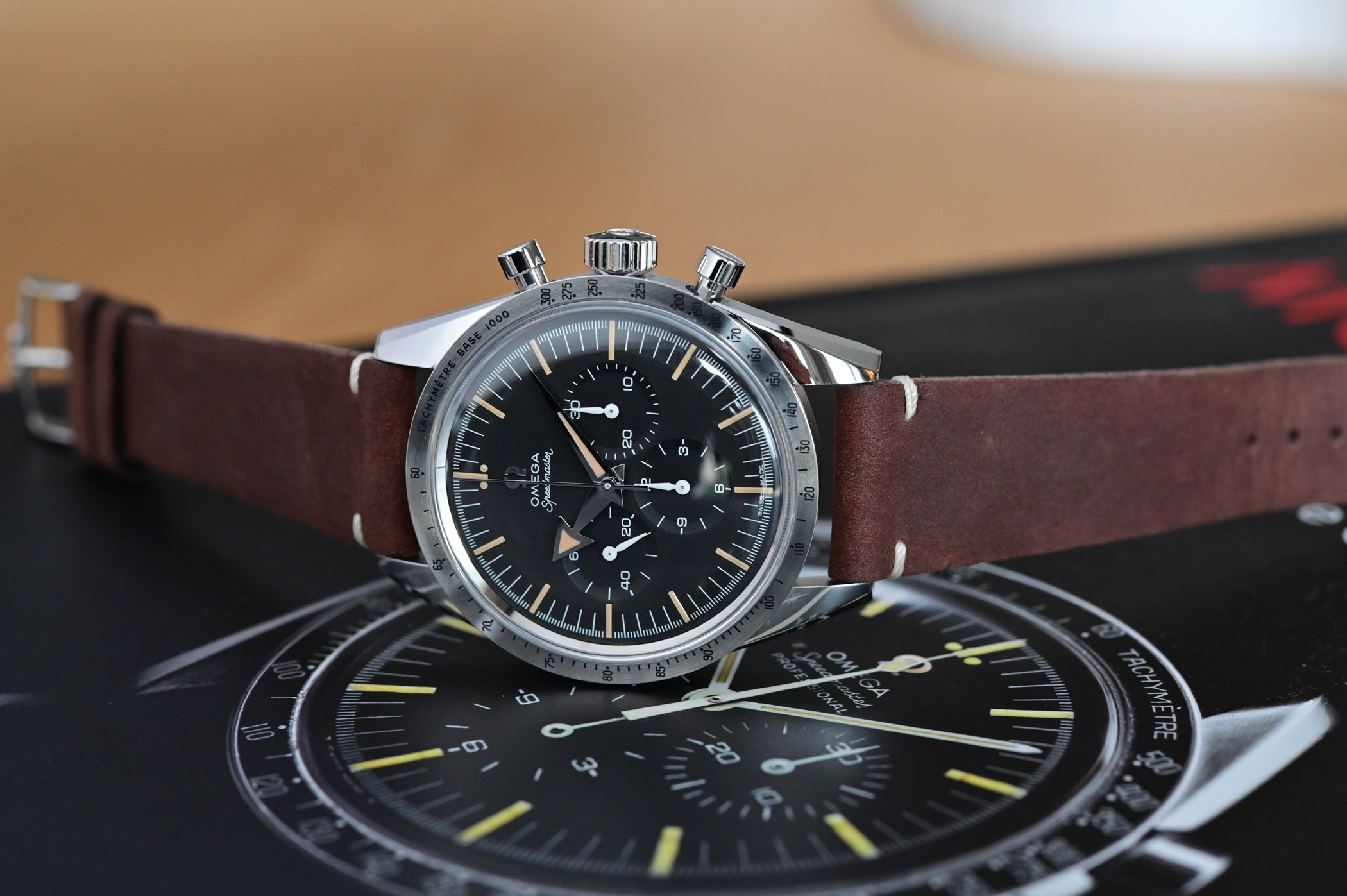 Omega Speedmaster 60th anniversary Edition - comparative review - 8
