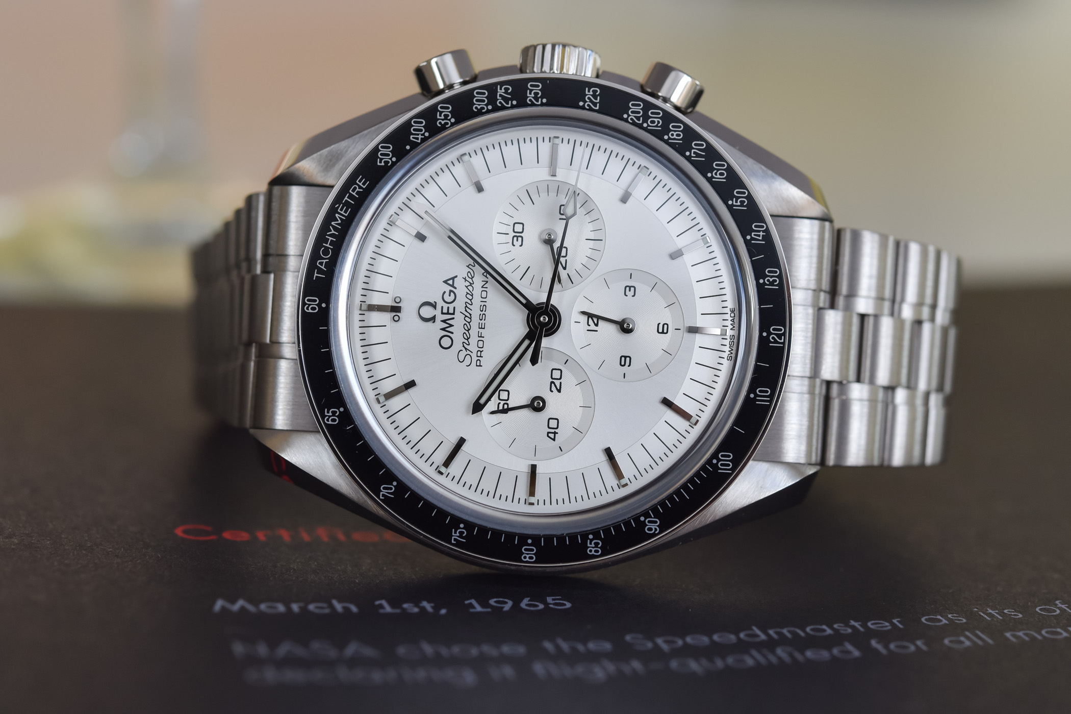 Omega Speedmaster Moonwatch Professional Co-Axial Master Chronometer Canopus Gold Silver dial 310.60.42.50.02.001