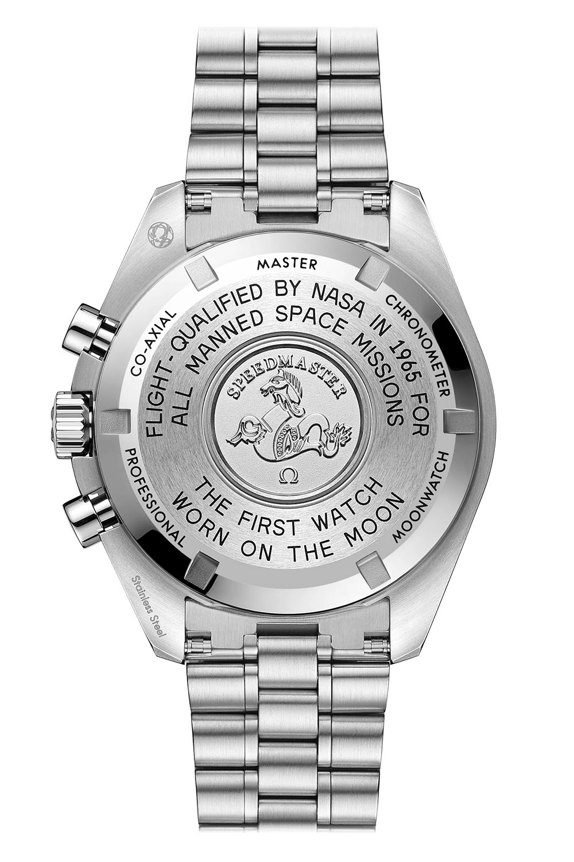 Omega Speedmaster Moonwatch Professional Master Chronometer 2021 hesalite steel caseback