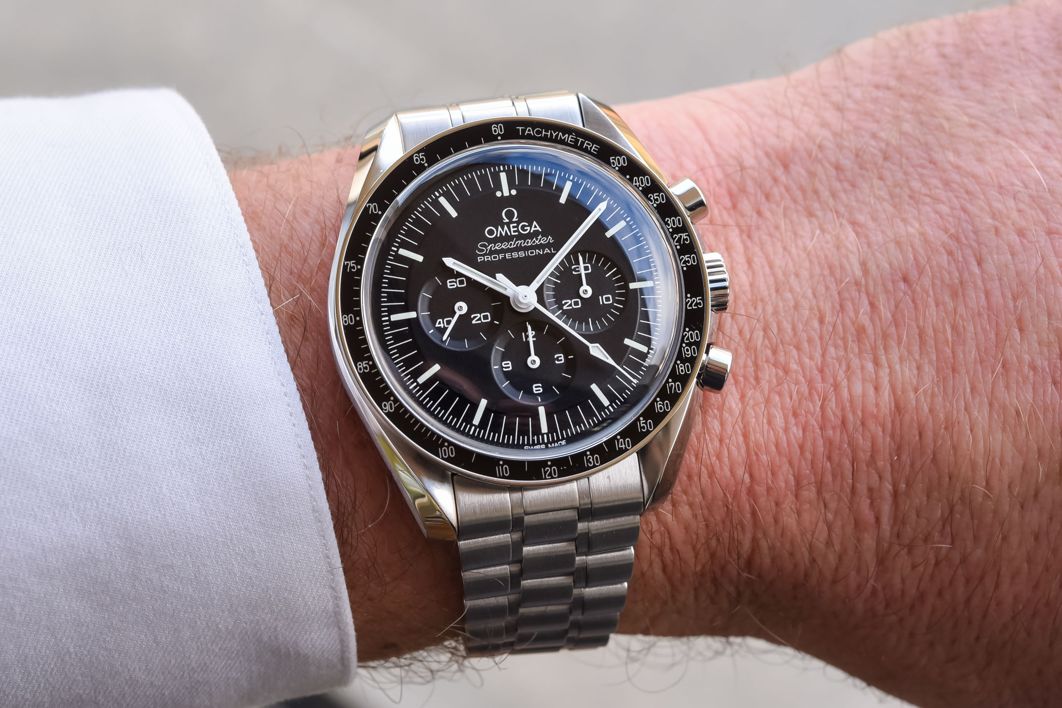 Omega Speedmaster Moonwatch Professional Master Chronometer Co-Axial 2021 - review - 15