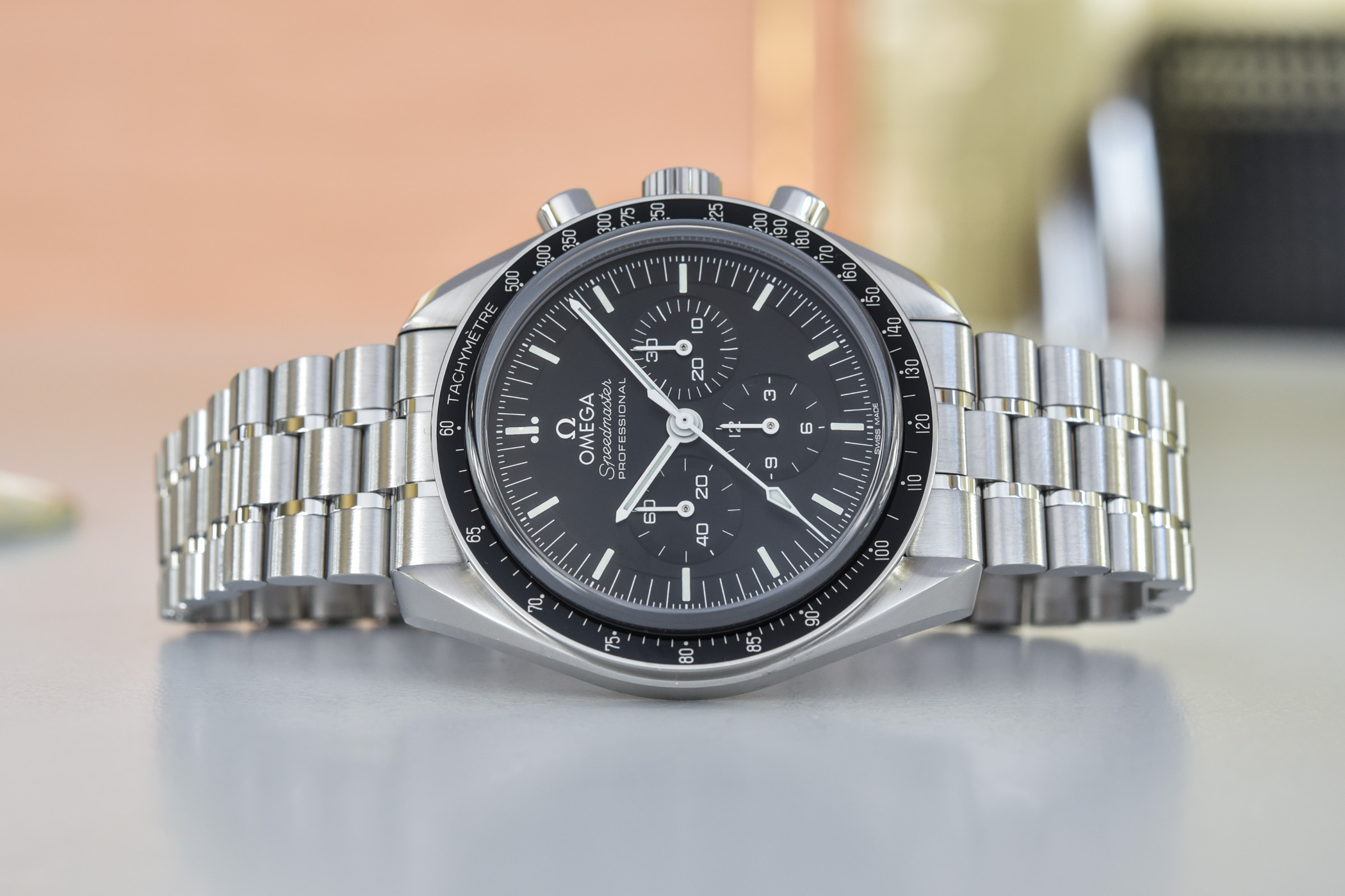 Omega Speedmaster Moonwatch Professional Master Chronometer Co-Axial 2021 - review - 24