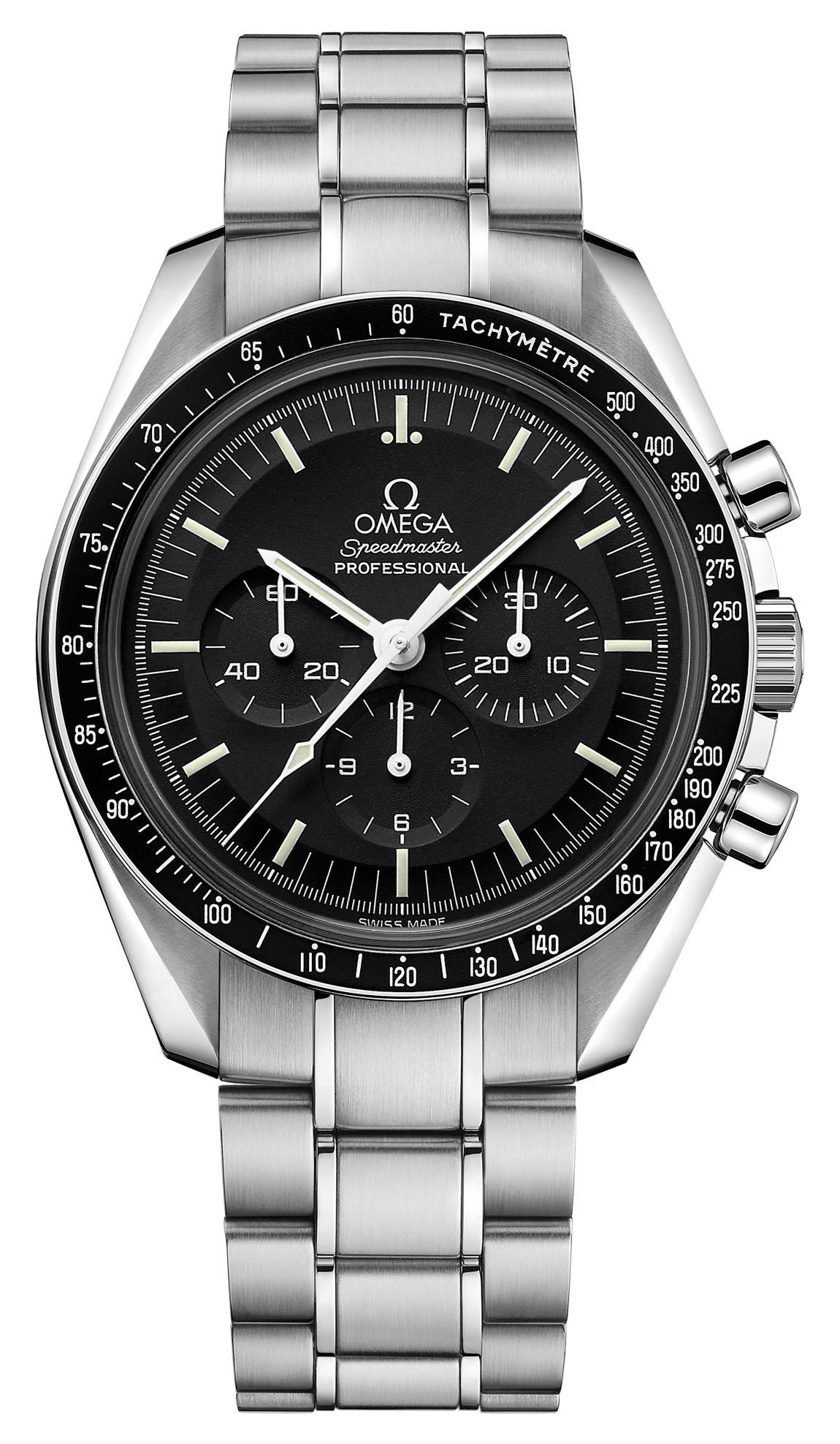 Omega Speedmaster Moonwatch Professional - pre-2021 Calibre 1861 steel on steel hesalite 311.30.42.30.01.005
