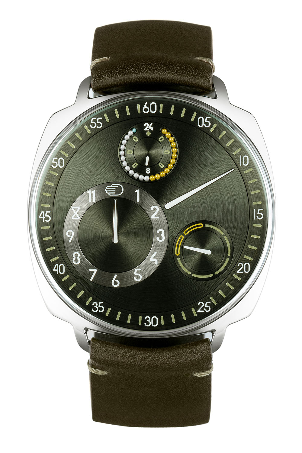 Ressence Type 1 Squared X Time by Colour